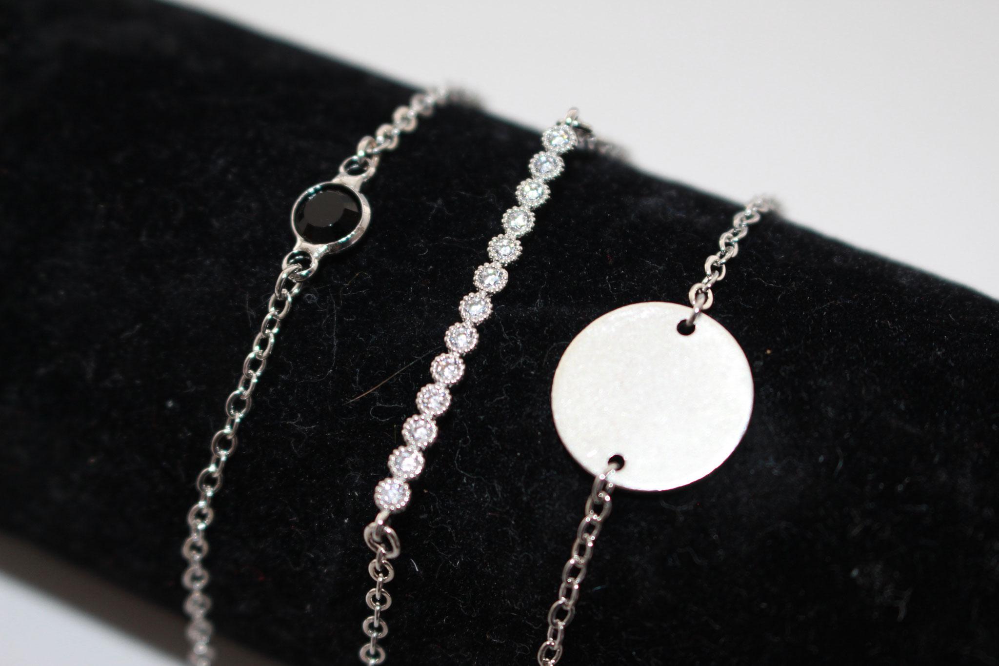 NEU - Armketten in Silber