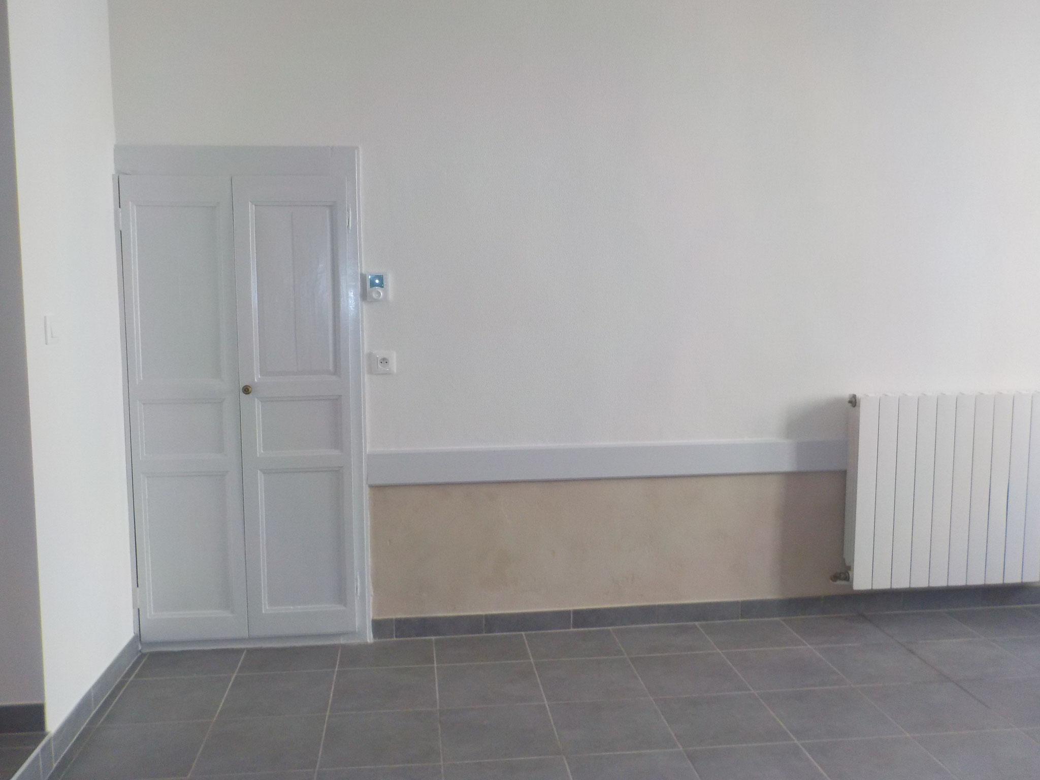 détail du mur de la cuisine