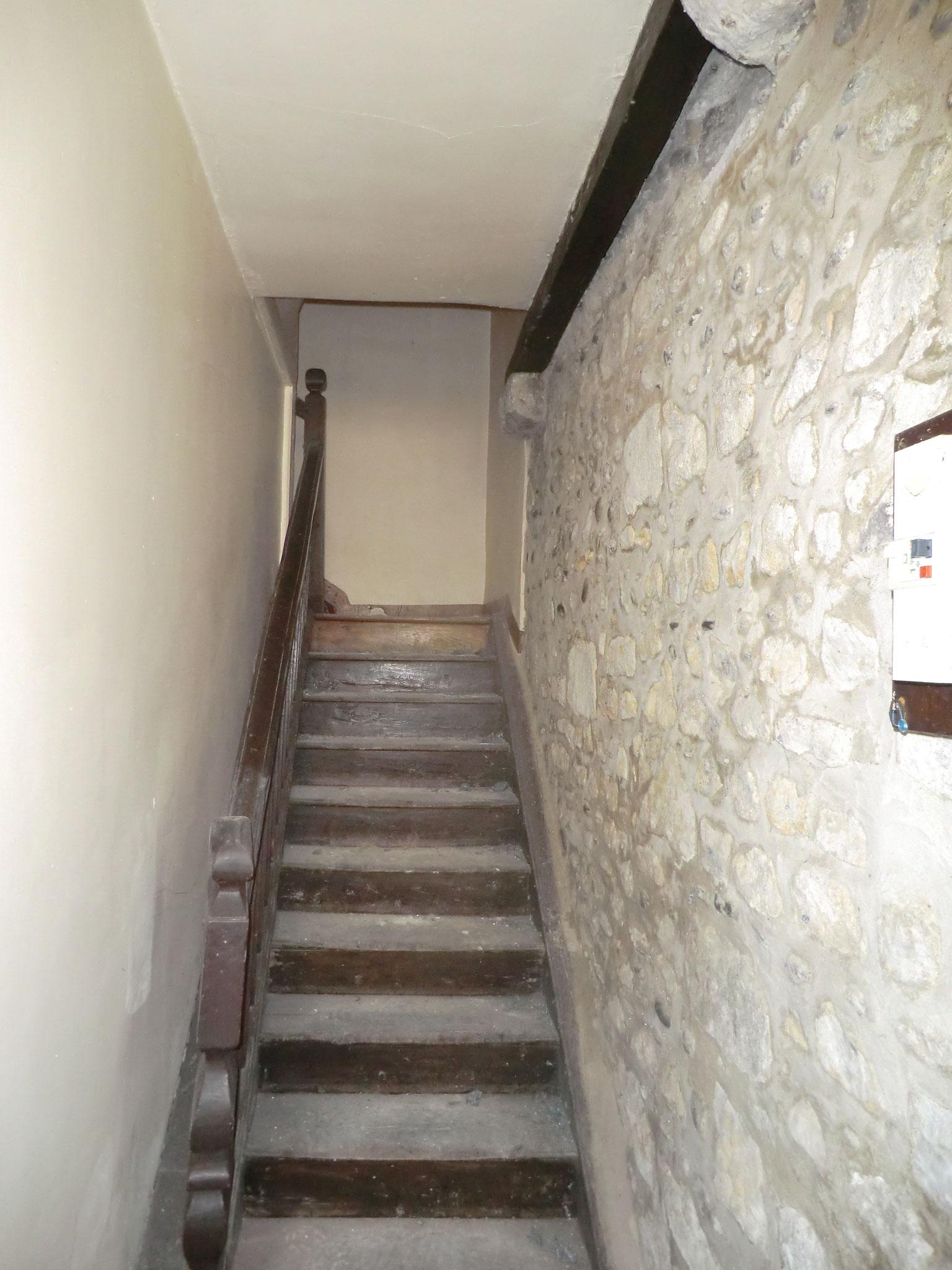 état initial - escalier