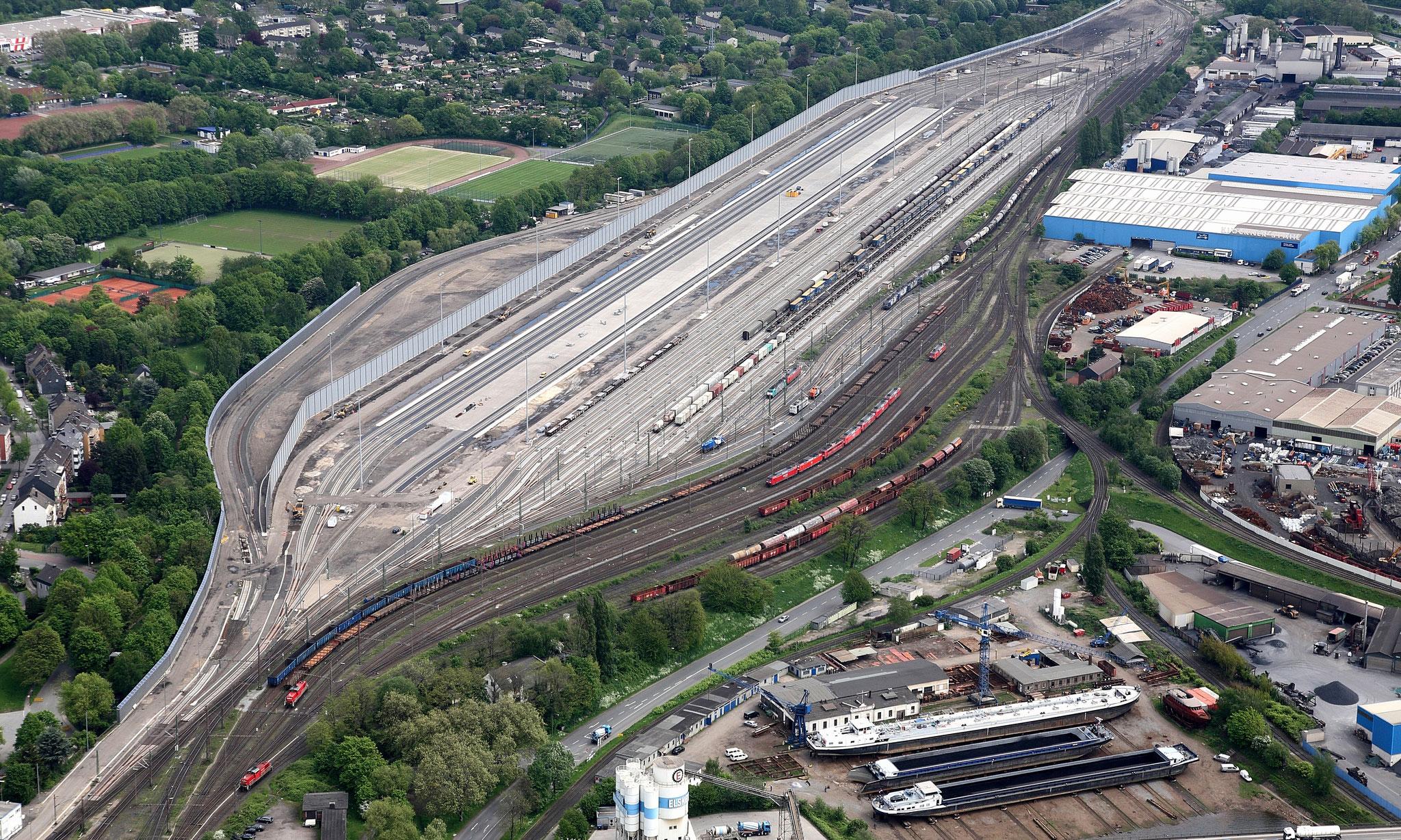Neubau Zugbildungsanlage und Neubau KV-Drehscheibe im Bahnhof Duisburg-Ruhrort Hafen
