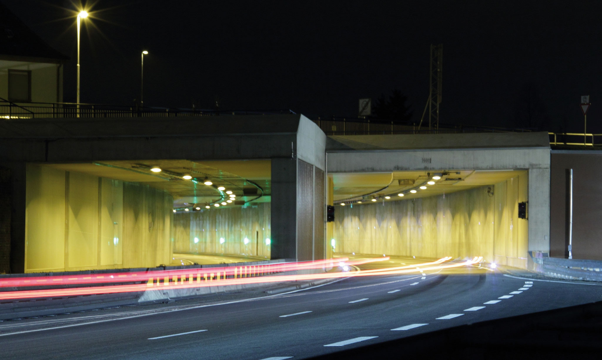 B535 Tunnel Schwetzingen