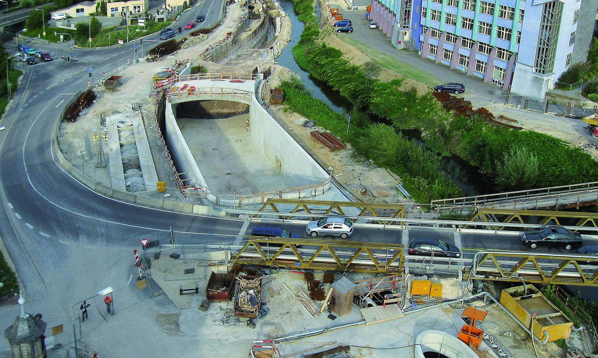 Straßentunnel Schwäbisch Gmünd
