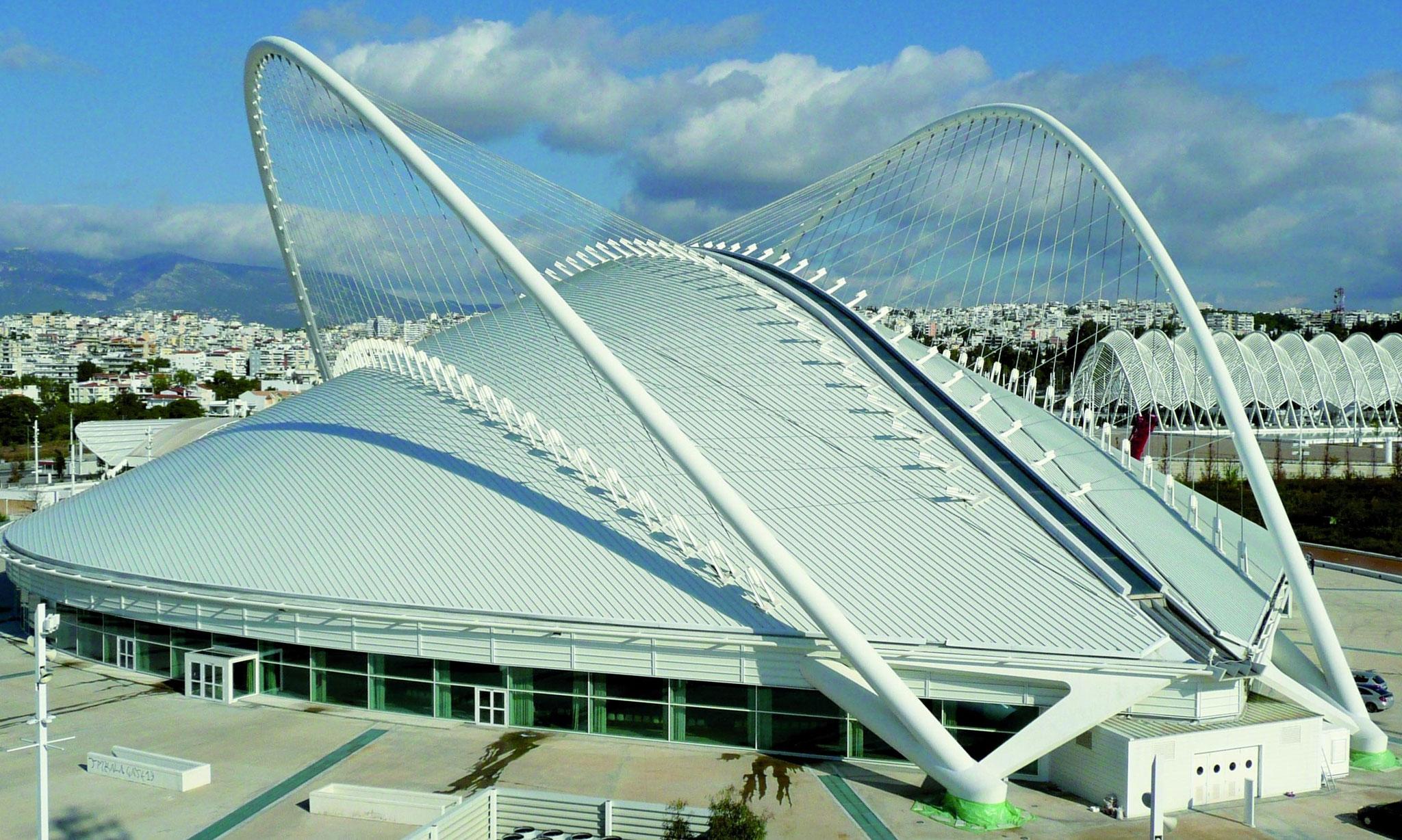 Olympische Spiele 2004 – Athen, Überdachung des Velodroms