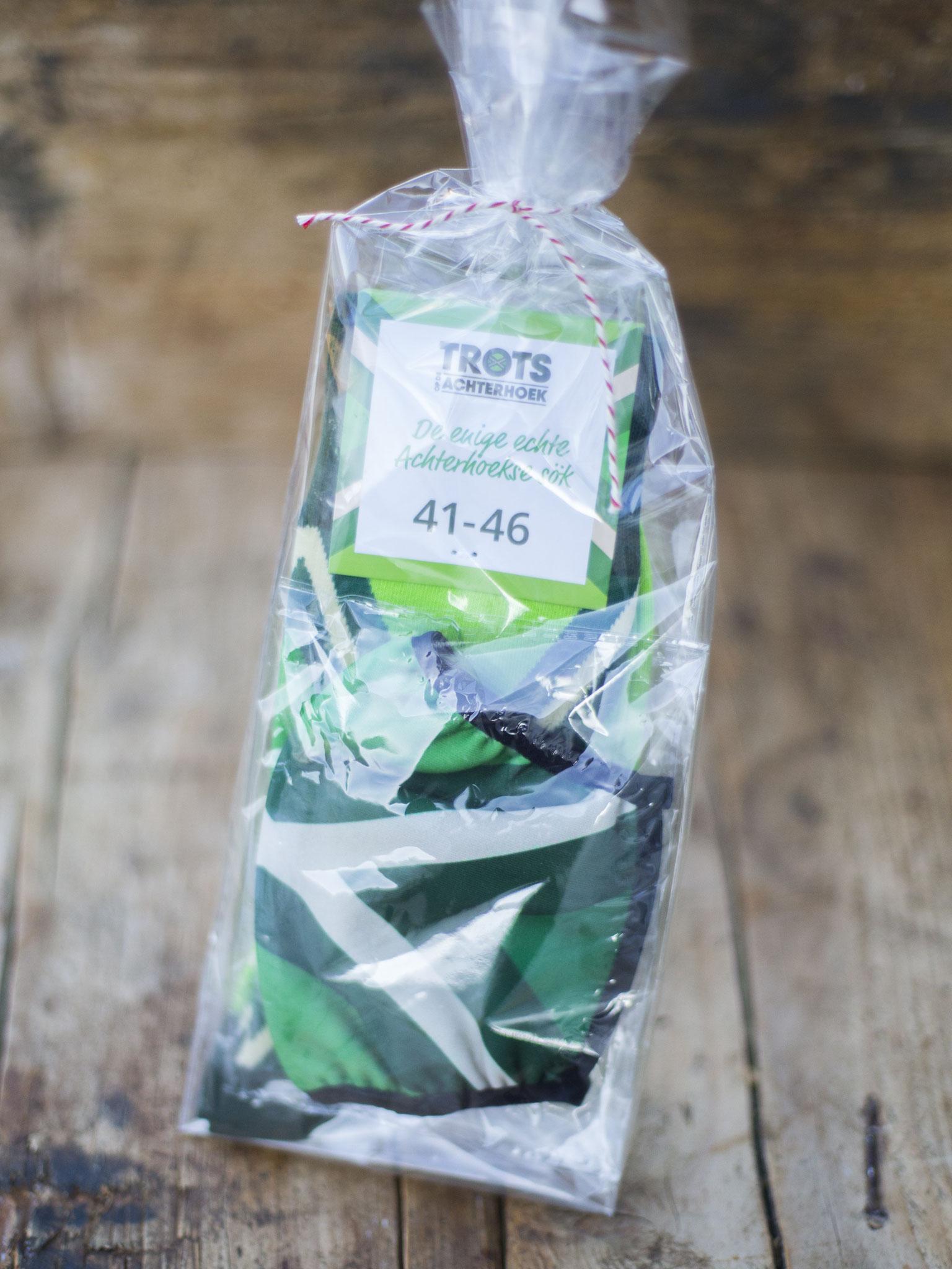 Trots op de Achterhoek sokken + mondkapje - Aangeboden door Trots op de Achterhoek