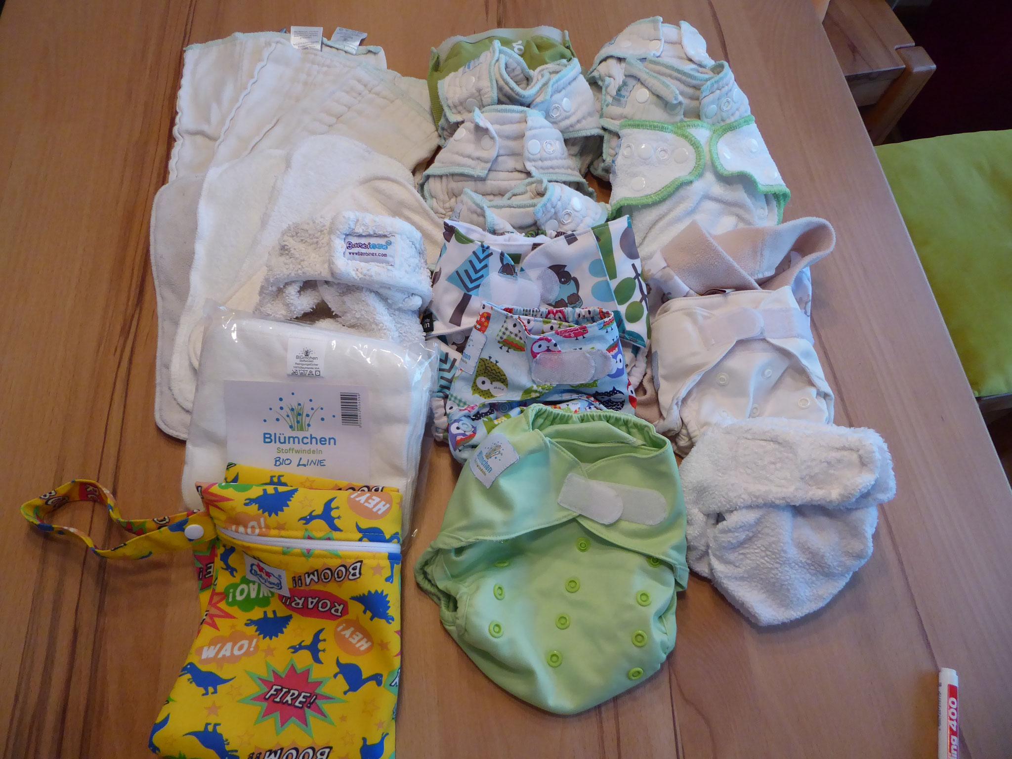 Kleines Paket plus G-Diaper extra