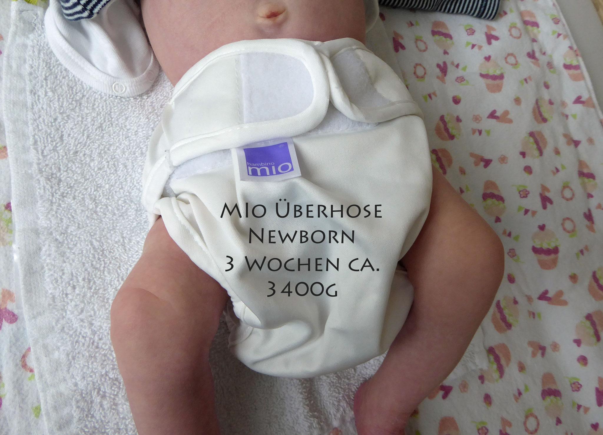 Miosoft Überhose Newborn