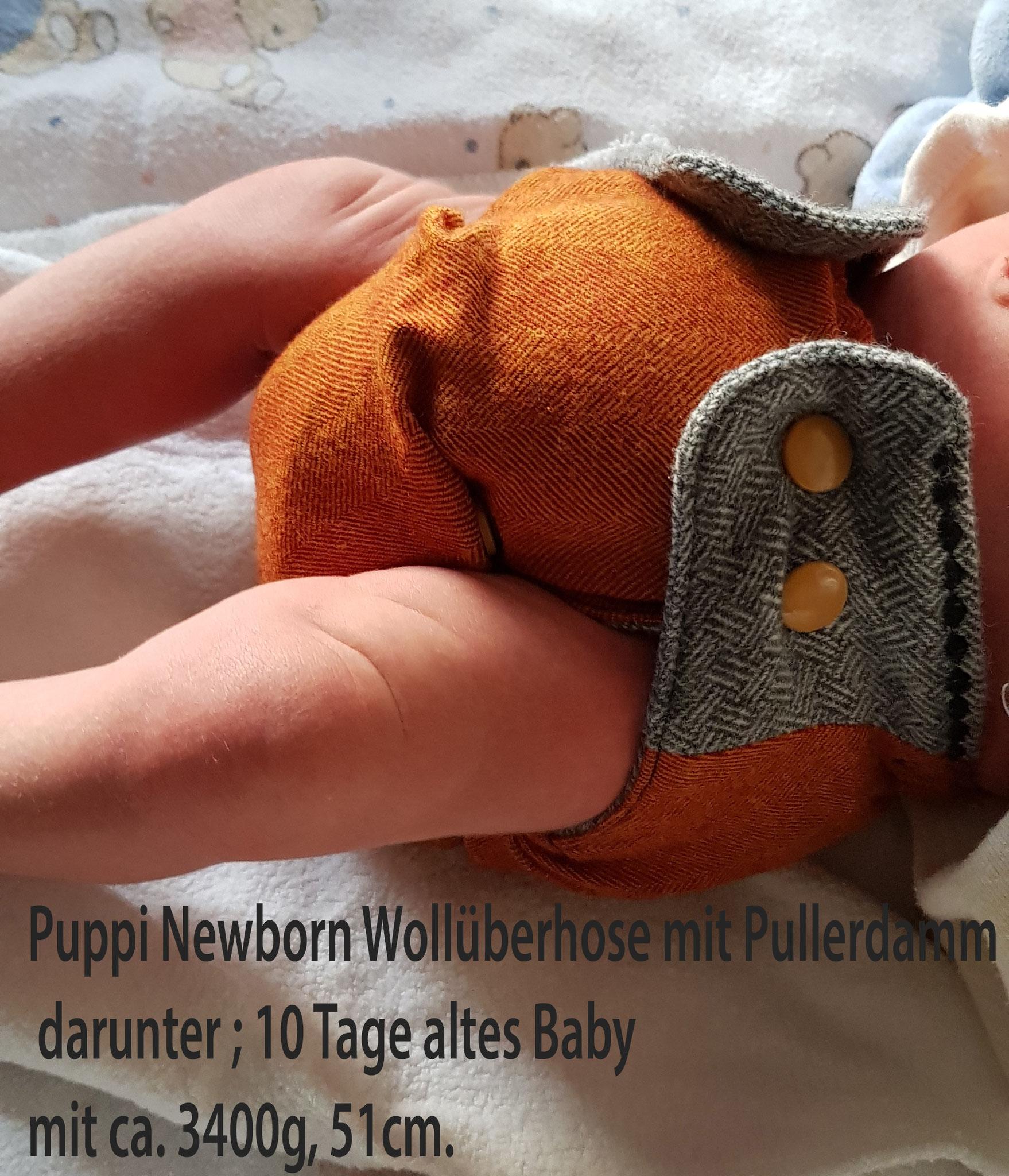 Puppi Wollüberhose