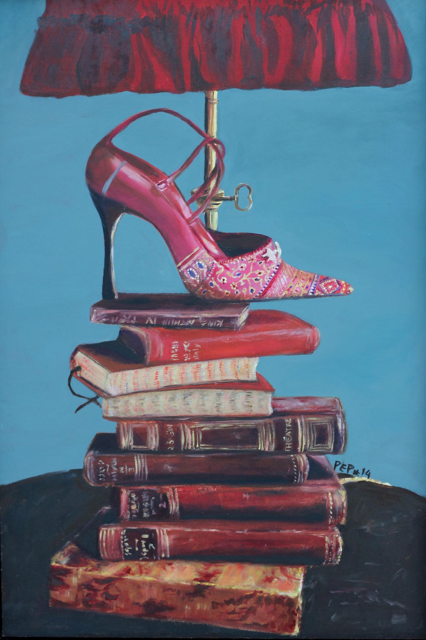 De geleerde schoen