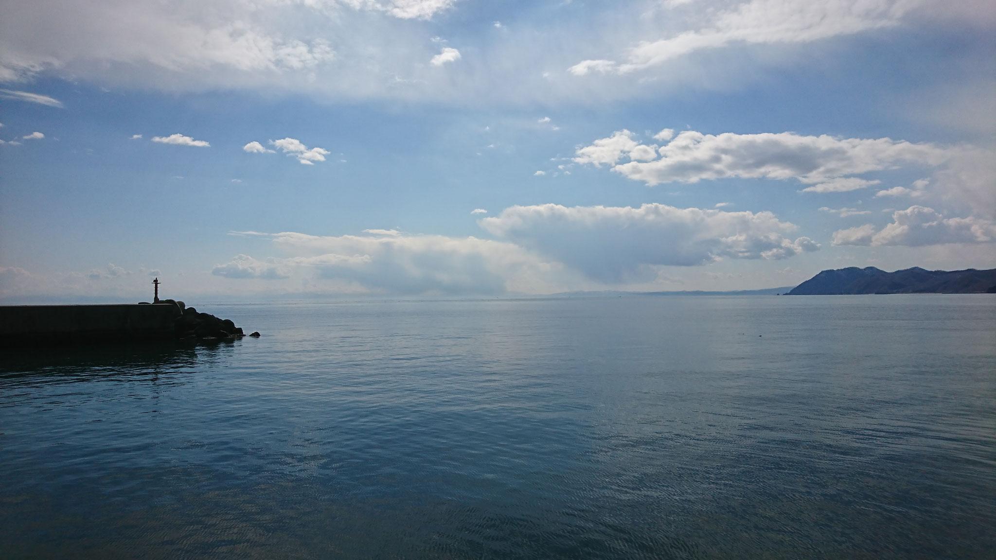 ワクワクの噴火湾豊浦の海!