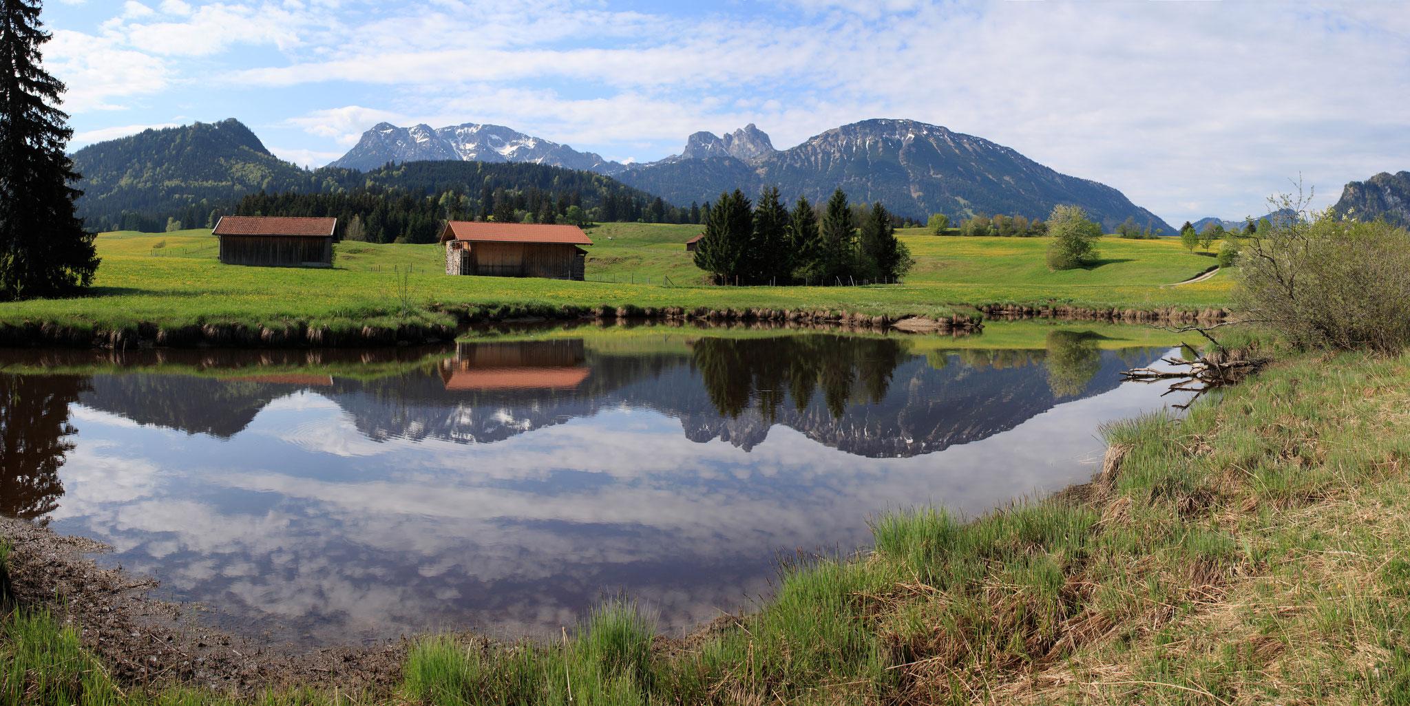Die Seen laden im Sommer zum Baden ein (Pfronten Tourismus, E. Reiter)
