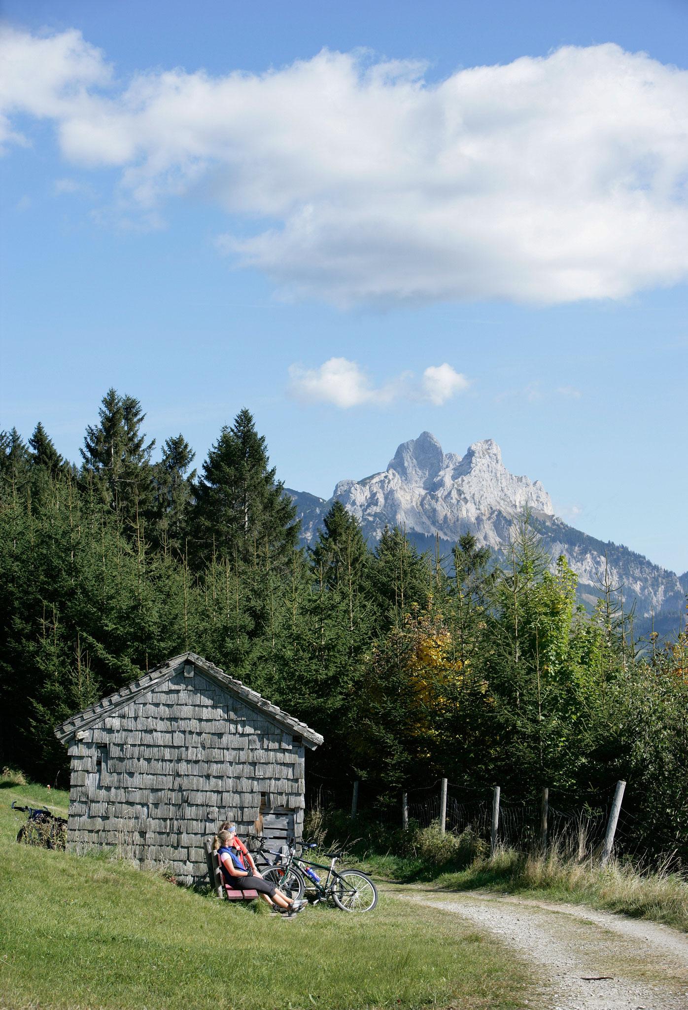 Ausgangspunkt für Radtouren (Pfronten Tourismus, E. Reiter)