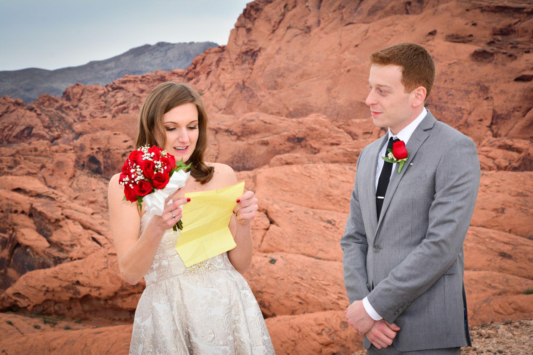 Das eigene Eheversprechen ist emotional