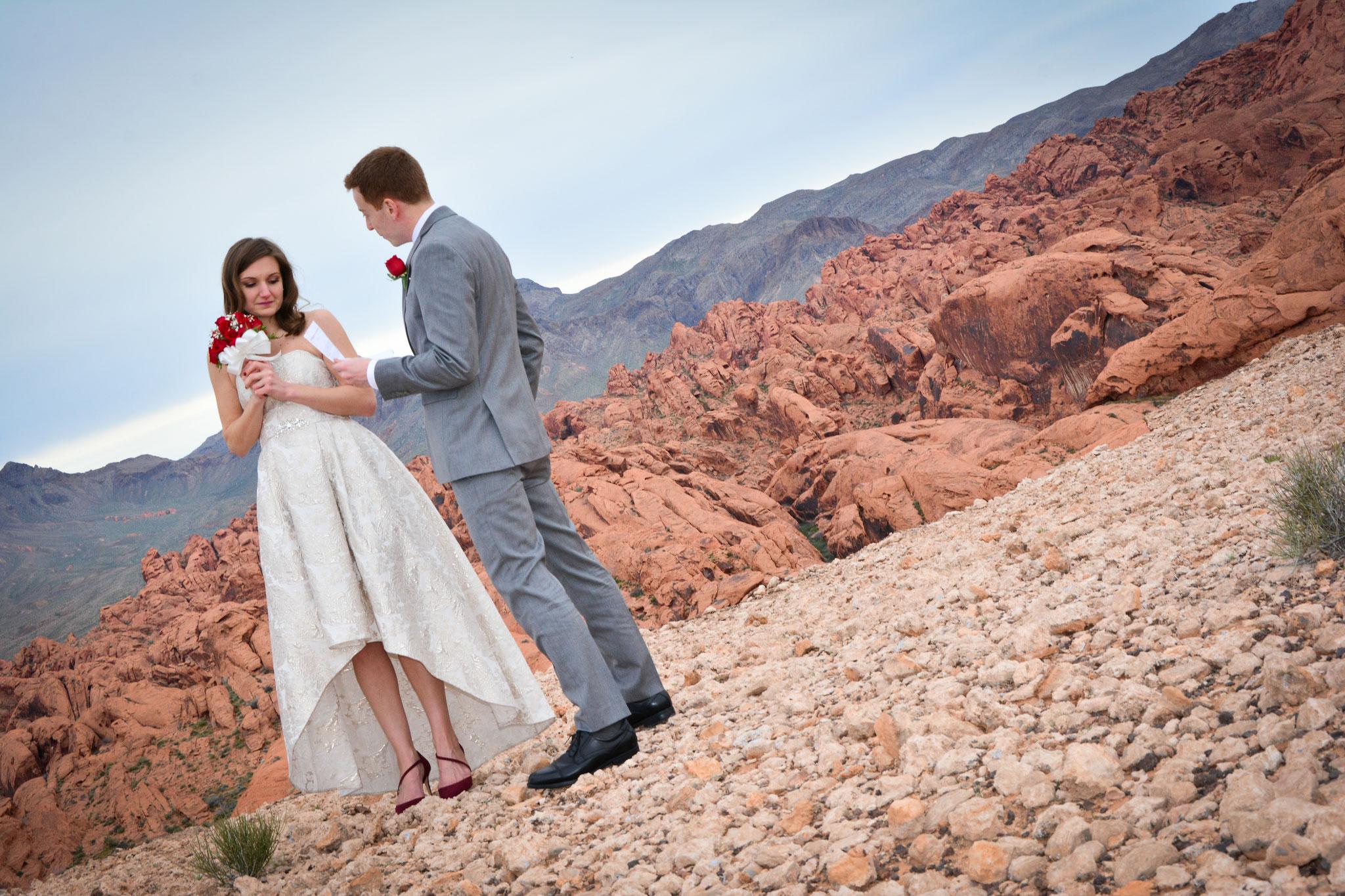 Las Vegas und die Wüste kann so schön sein