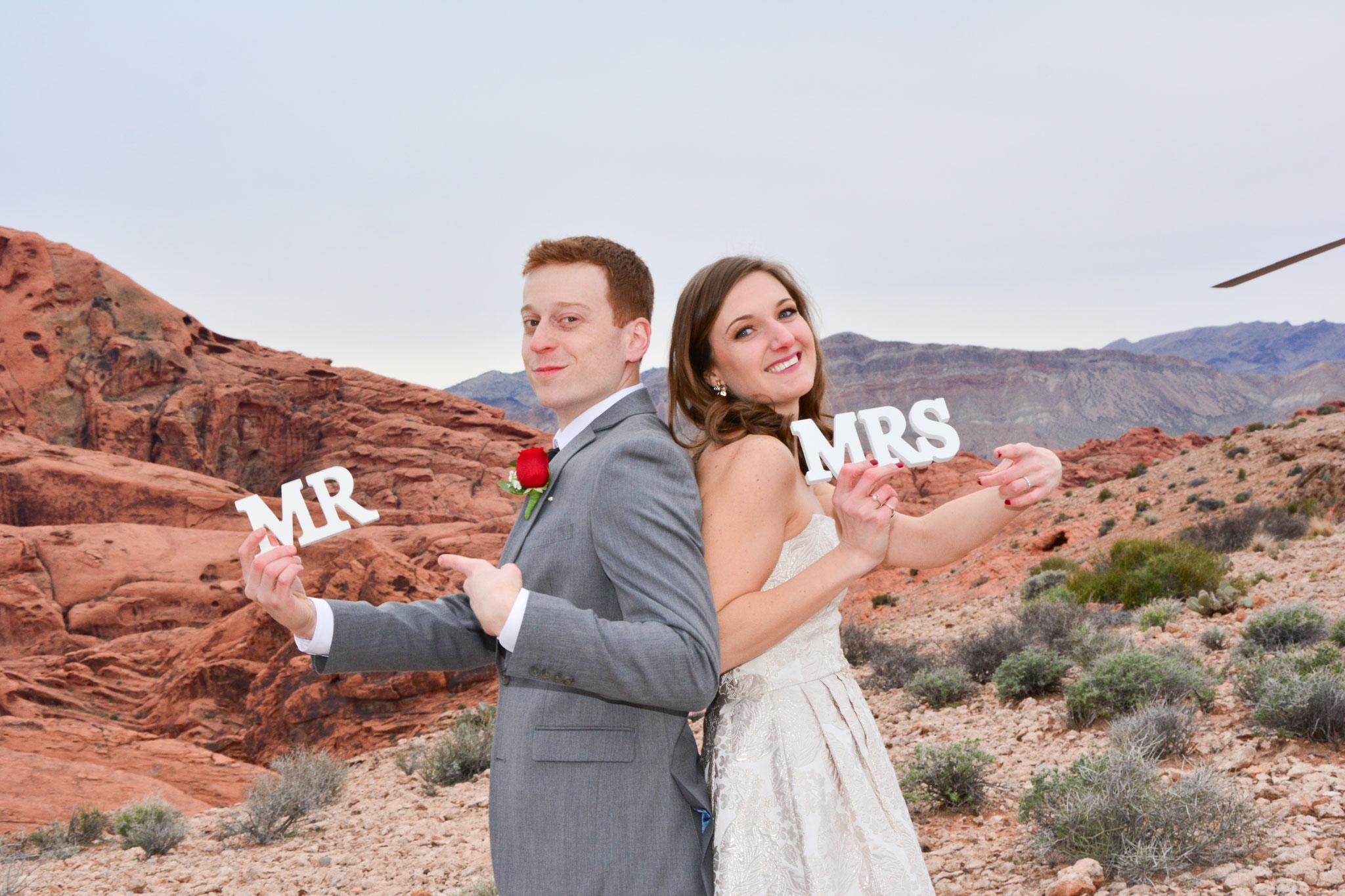 Hochzeitsbilder im Valley of Fire hat nicht jeder