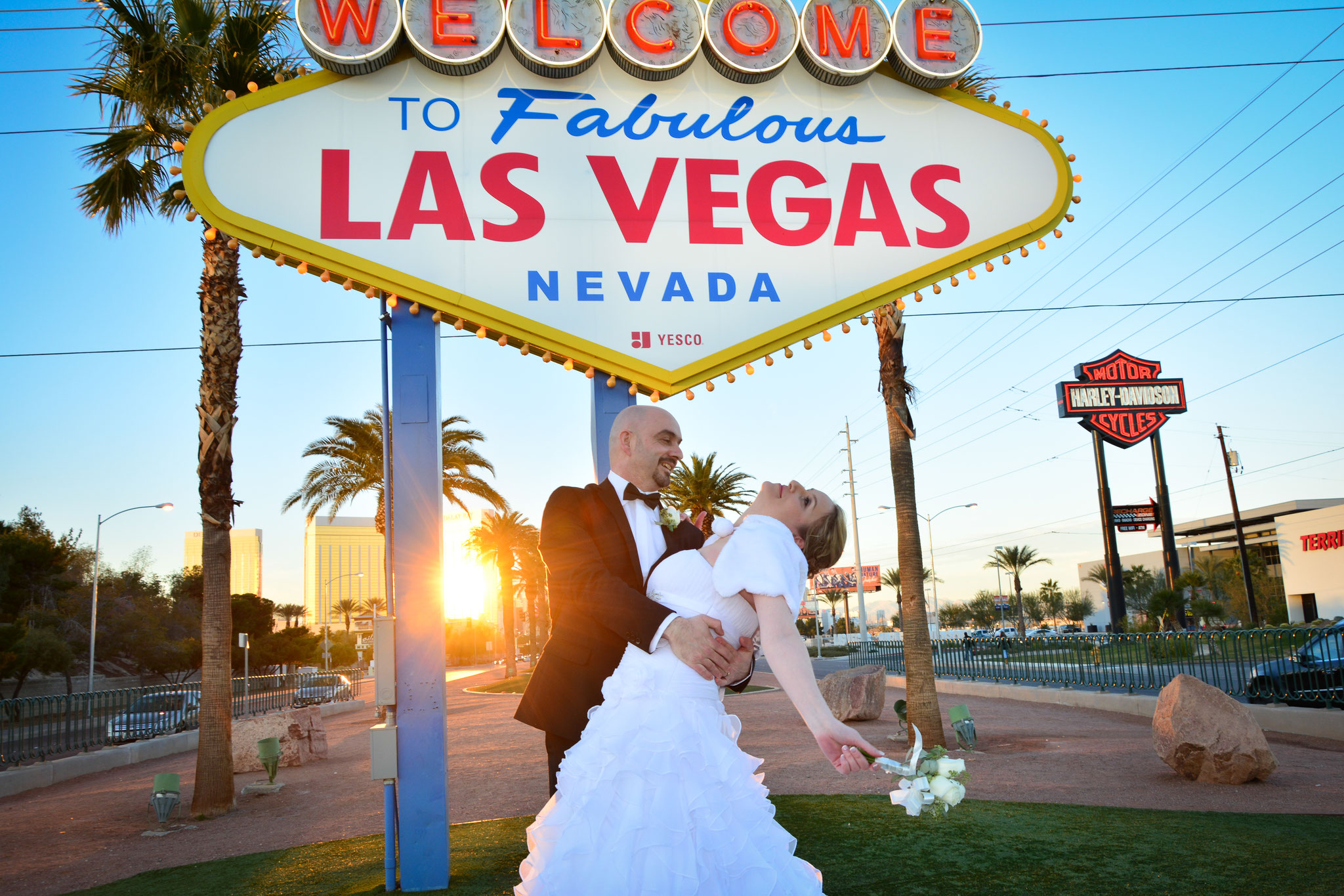 Traut euch am Welcome to Las Vegas Sign