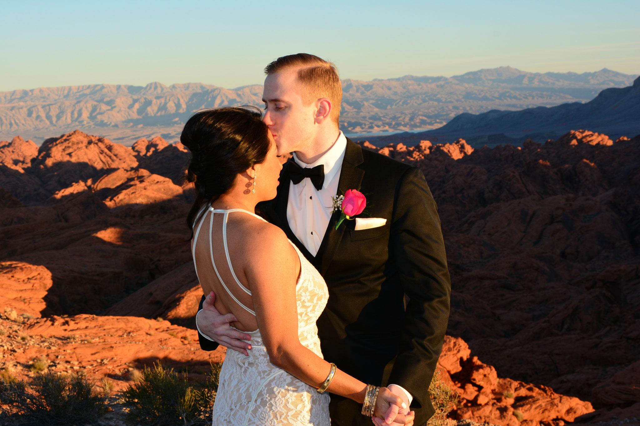 Hochzeitsbilder im Valley of Fire