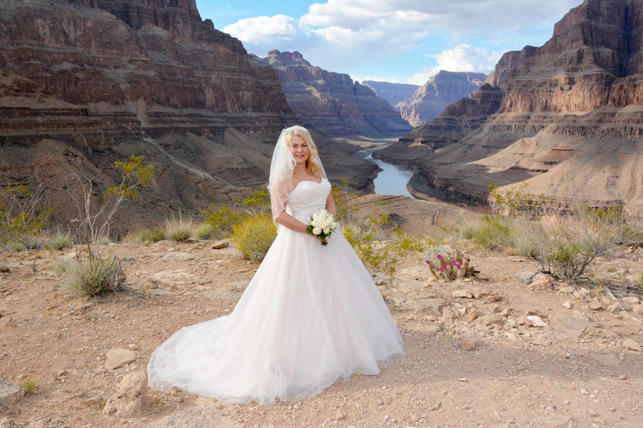 Hochzeitsbilder im Grand Canyon