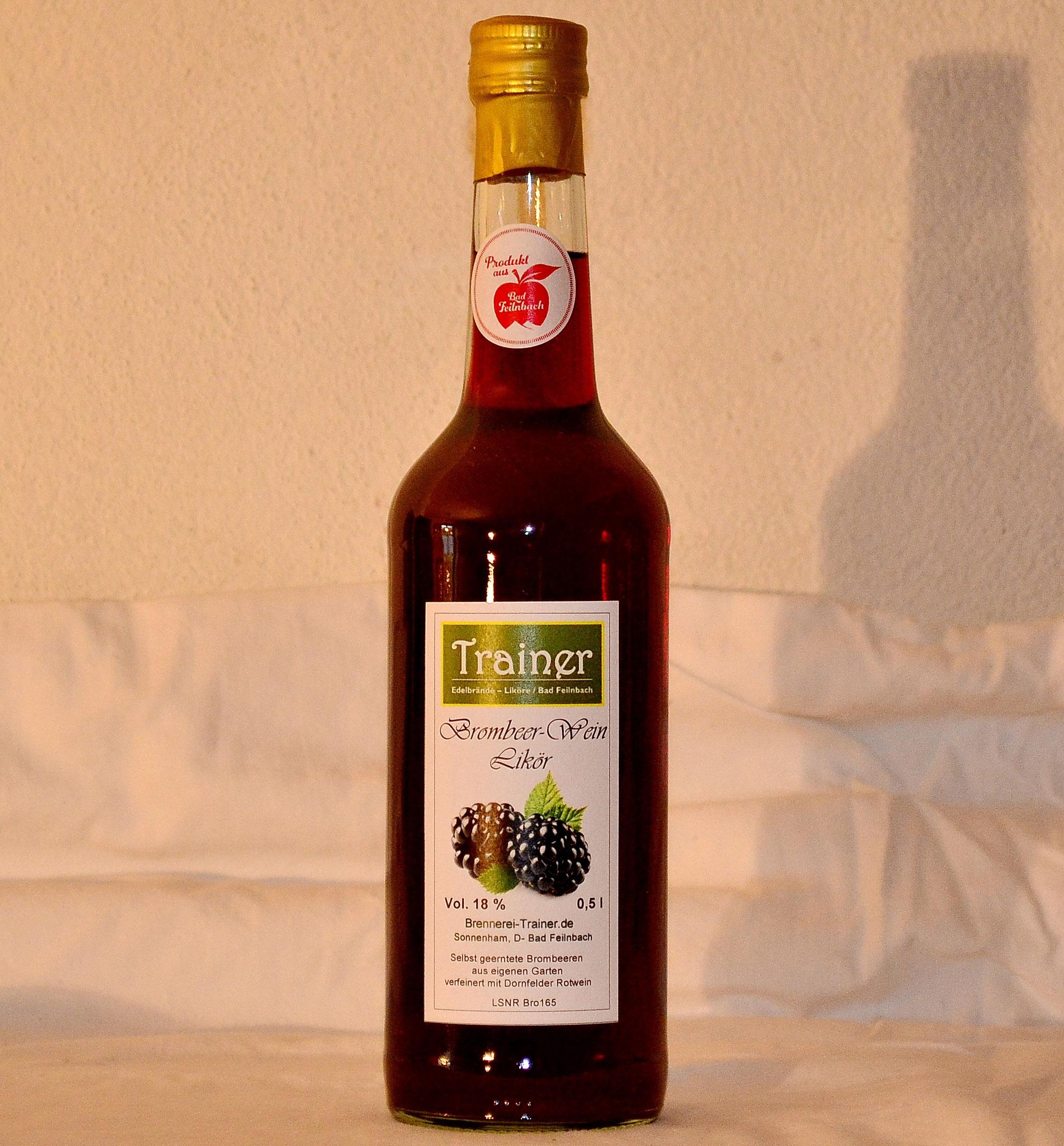 Brombeerwein-Likör