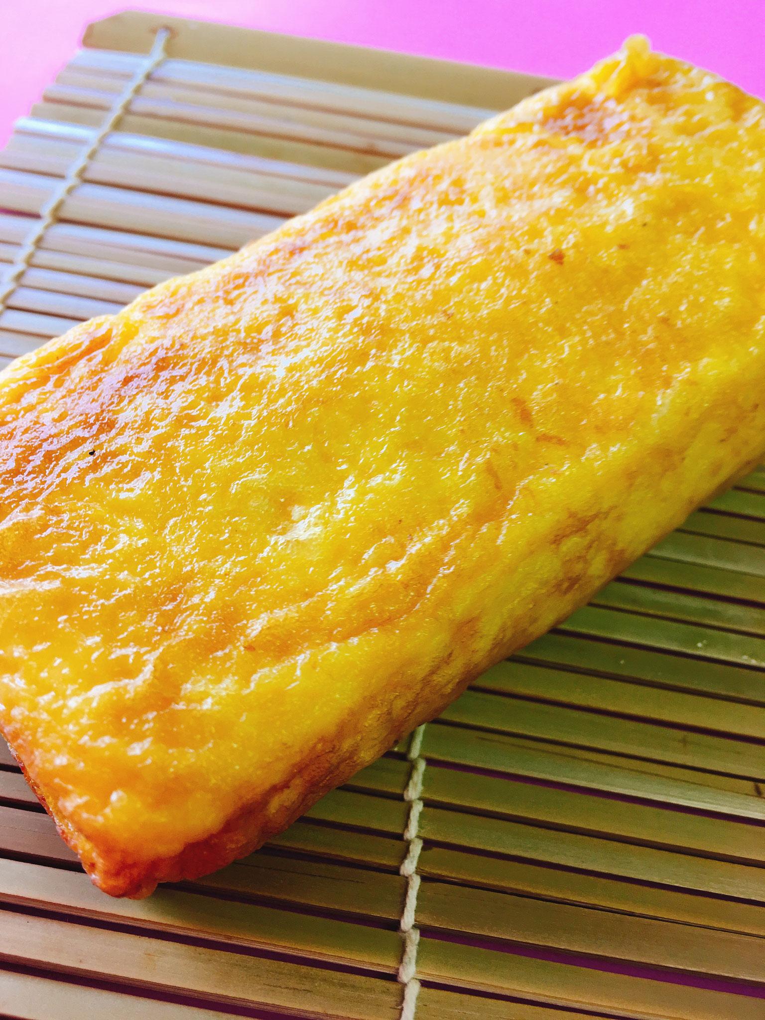 三代目奥久慈の厚焼き卵 ハーフサイズ450円 フルサイズ800円