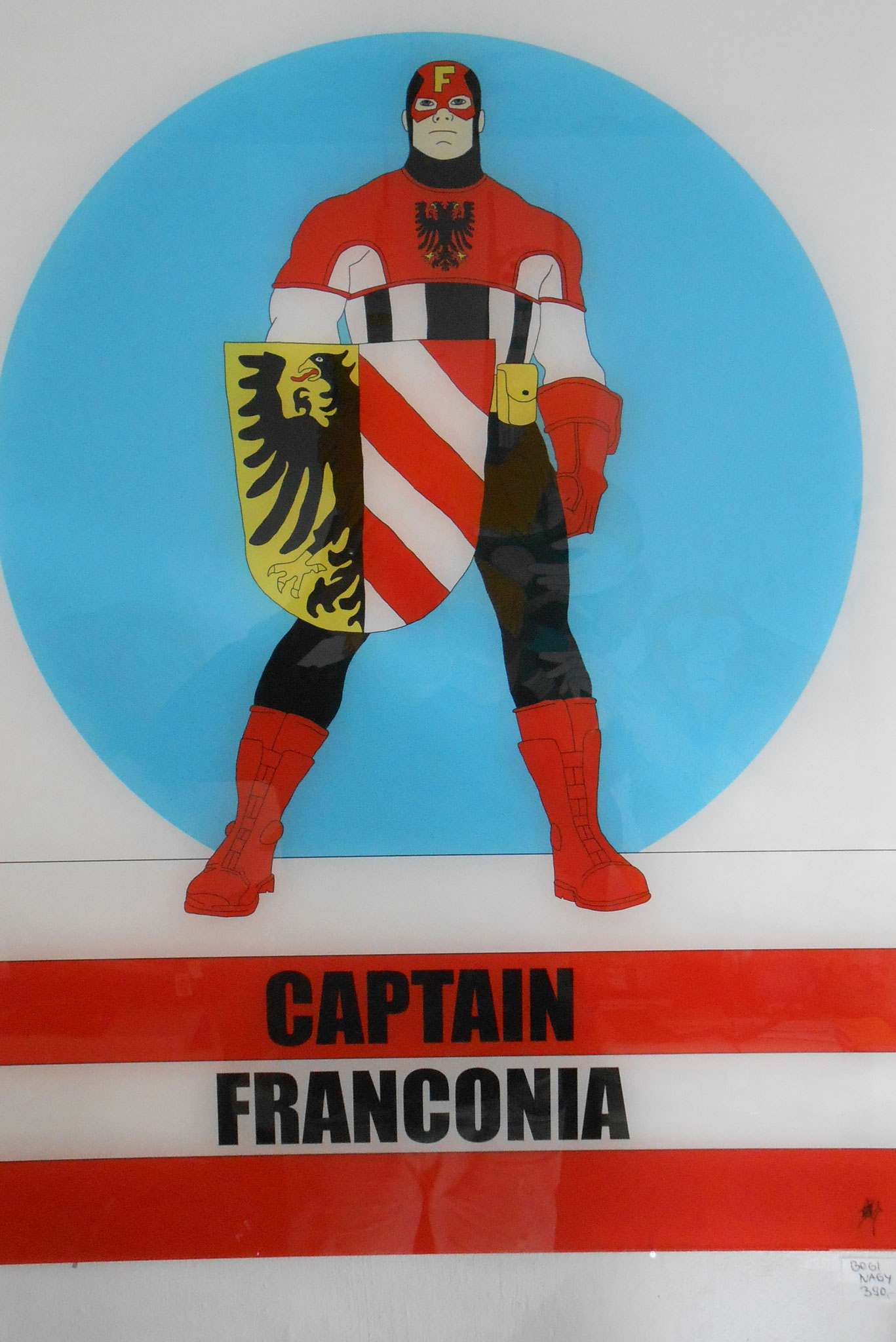 Bogi Nagy  Captain Franconia  70 x 100 cm  490, EUR