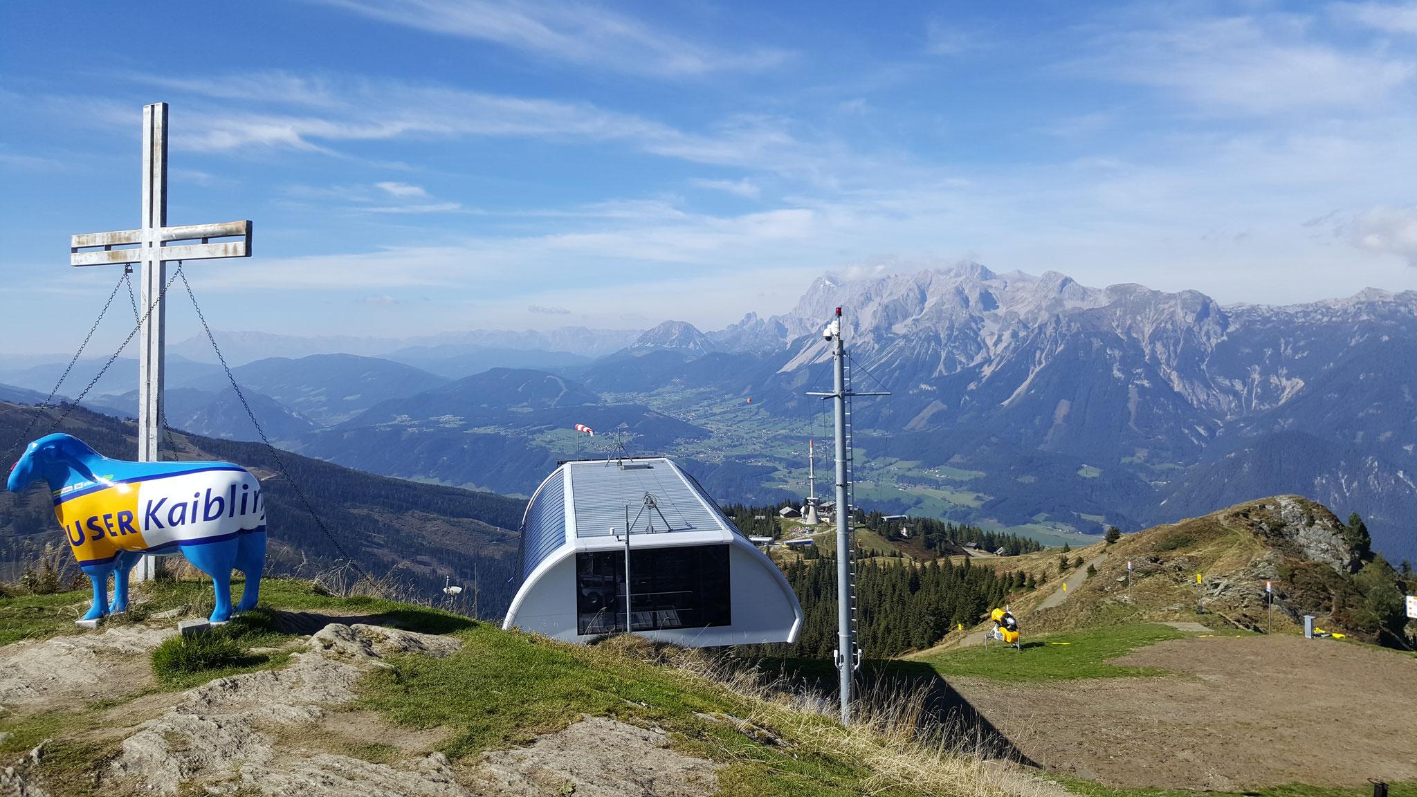 Das Gipfelkreuz vom Hauser Kaibling