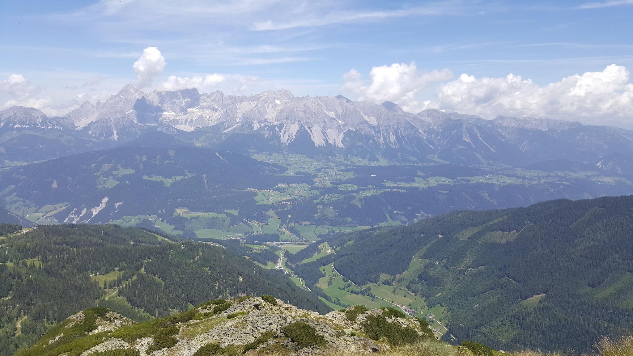 Blick vom Höchstein ins Tal