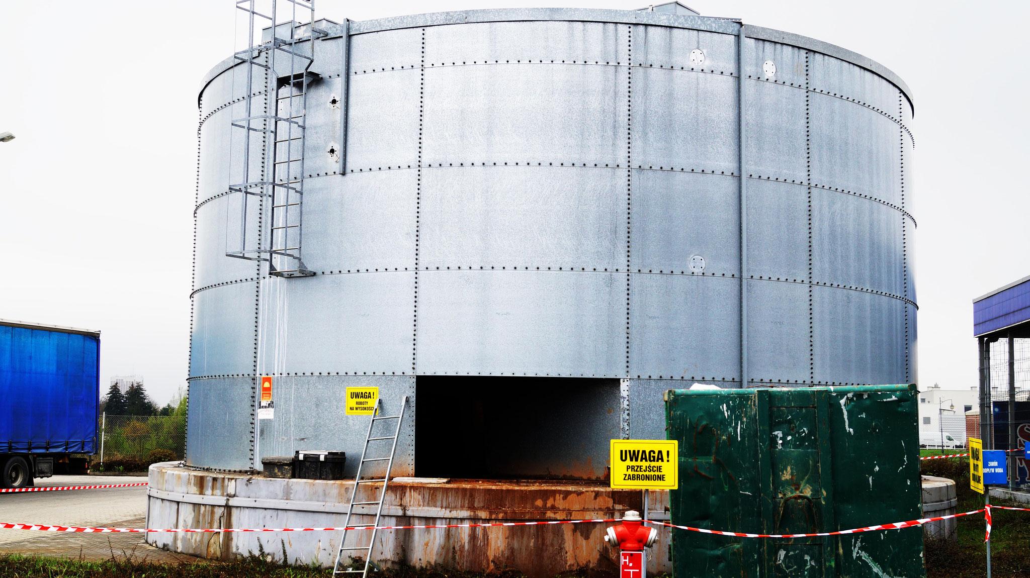 Zbiorniki ppoż - czyszczenie, modernizacja, przegląd.