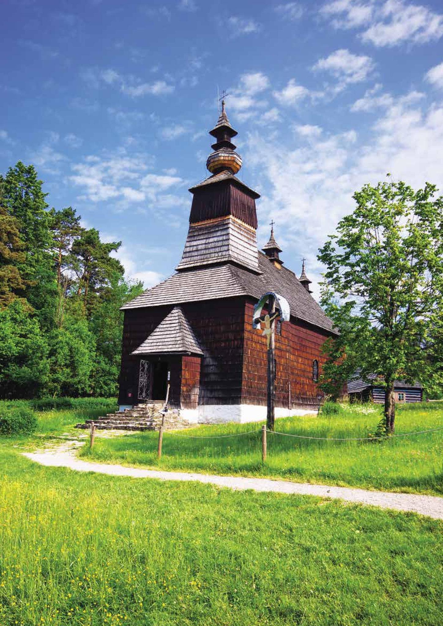 Greckokatolicka cerkiew w Matysowej z 1833r., fot. Piotr Basałyga