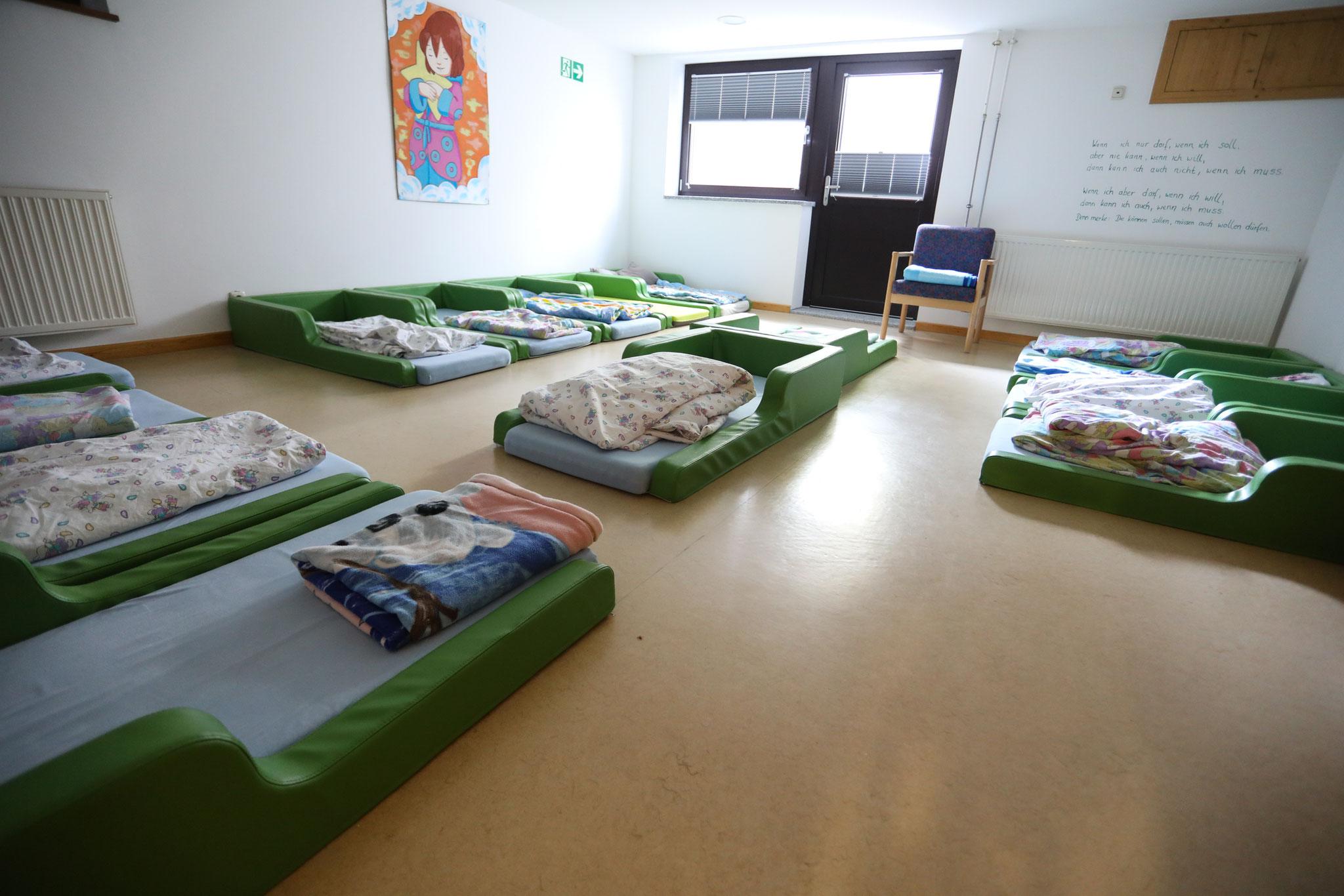 """Schlafraum Kindergarten """"Hasen und Igel"""""""