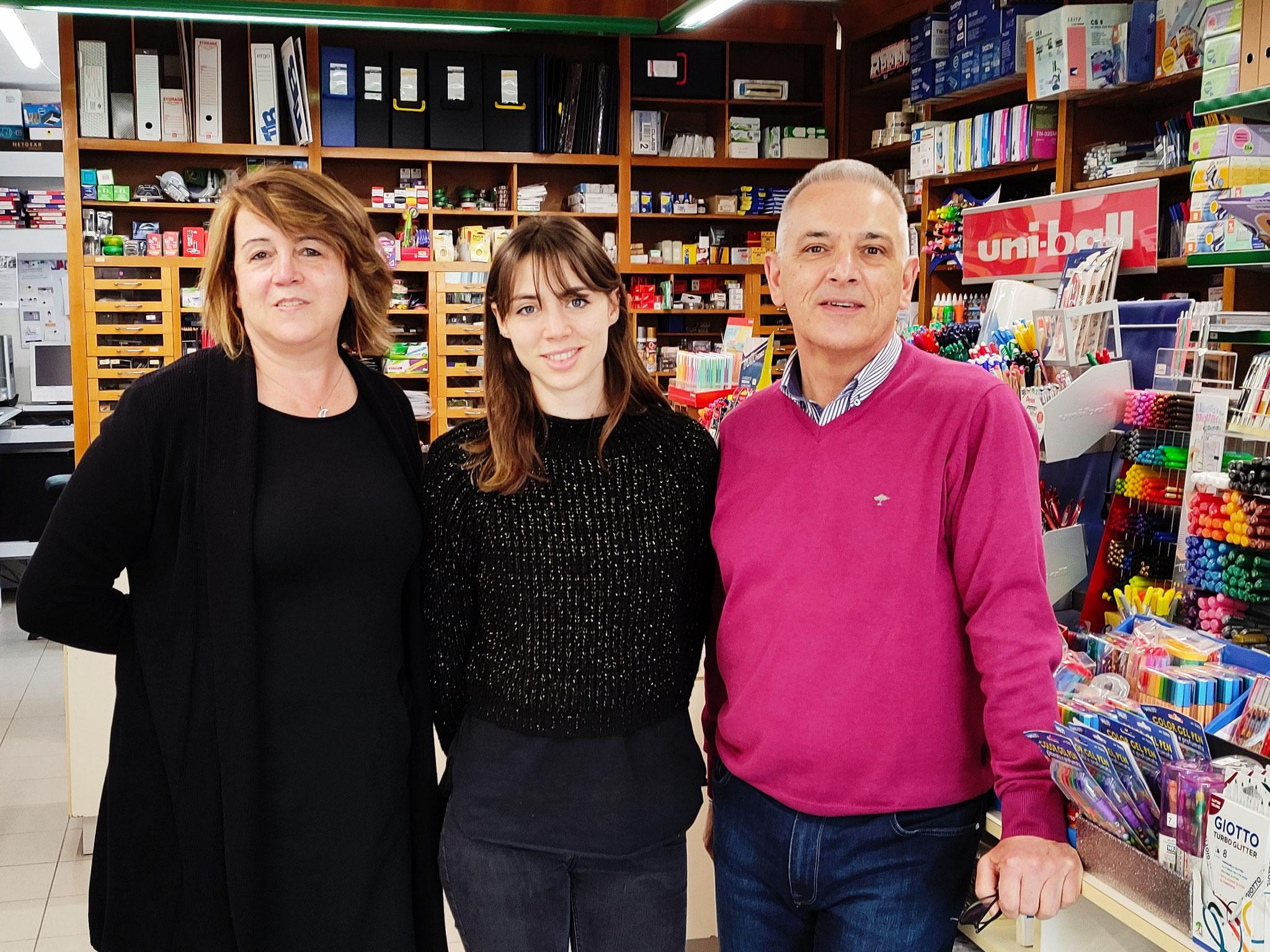 questi siamo noi ... Fiorella, Silvia e Paolo