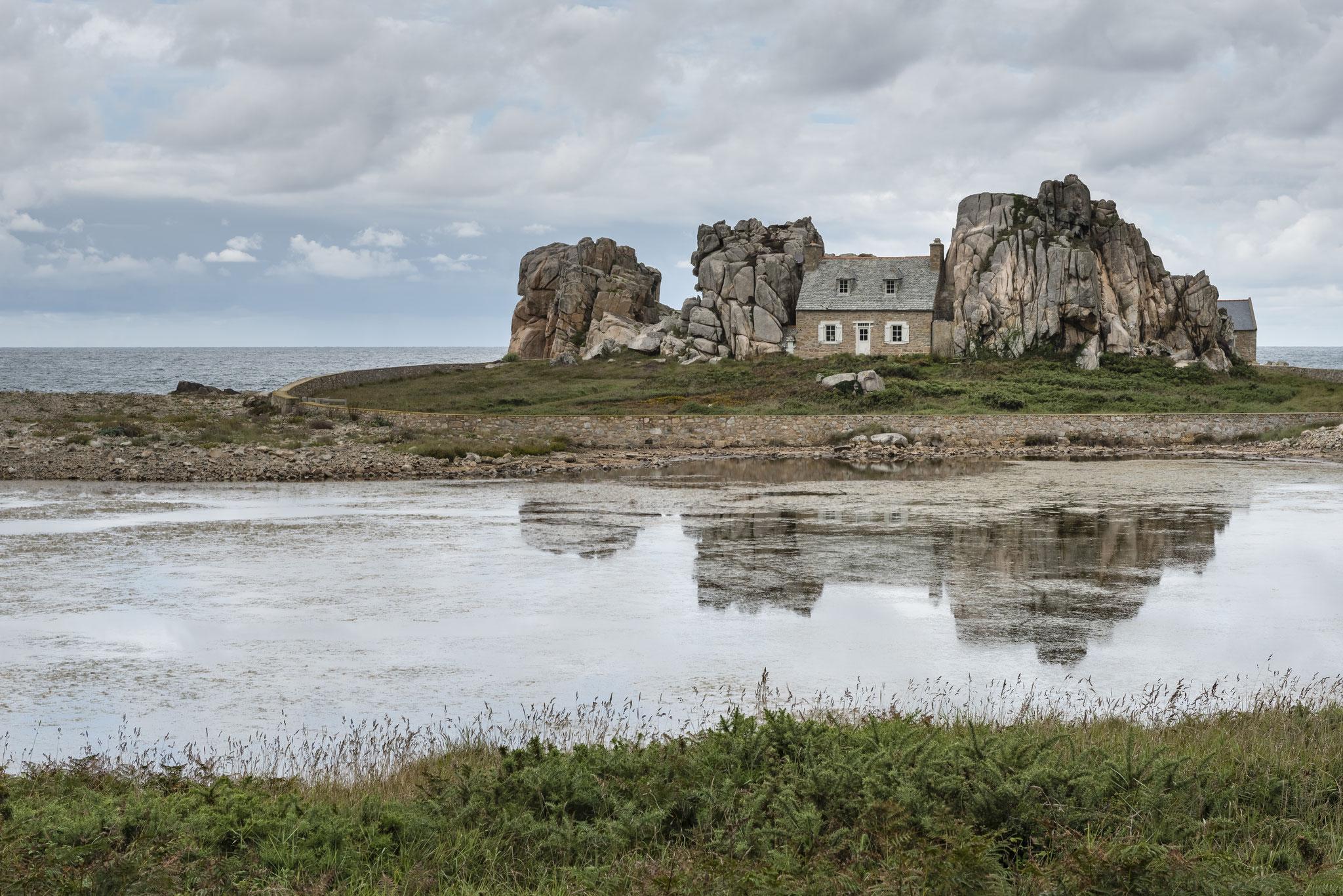 Die Bretagne und der der wilde Atlantik.