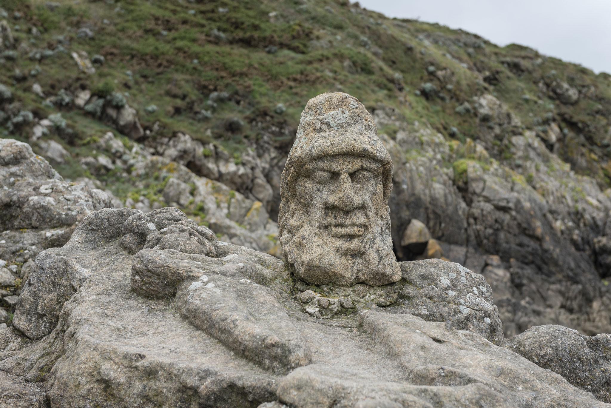 Rothéneuf - Die Felsengesichter