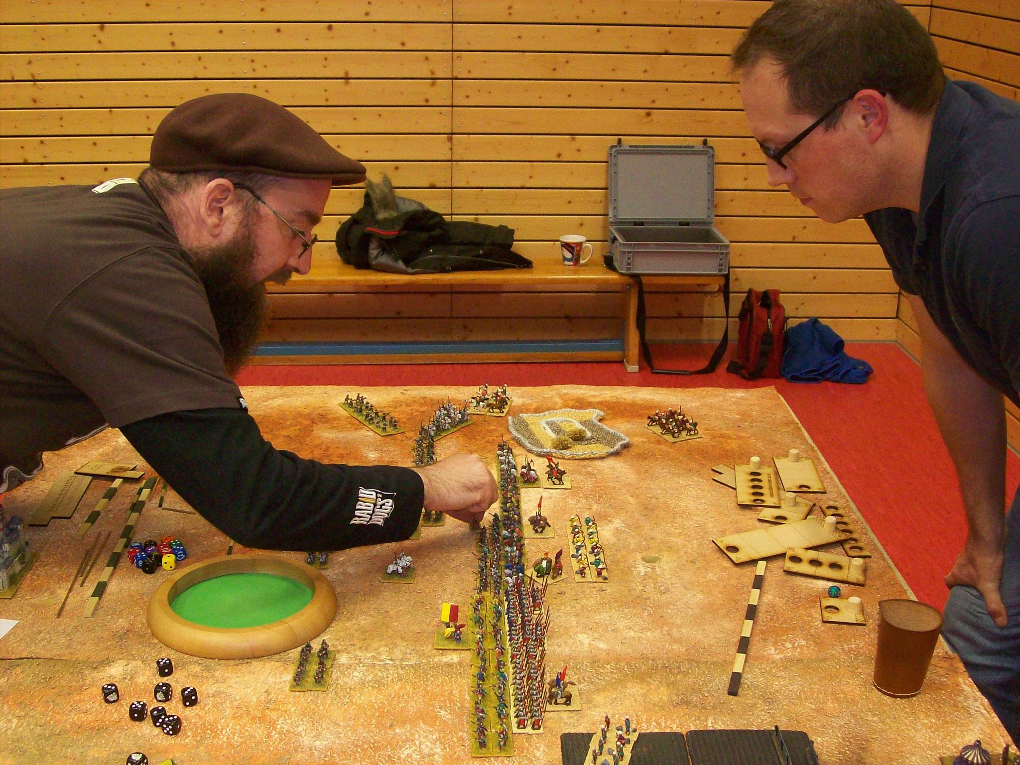 Koblenz-internes Duell: Andreas und Christian