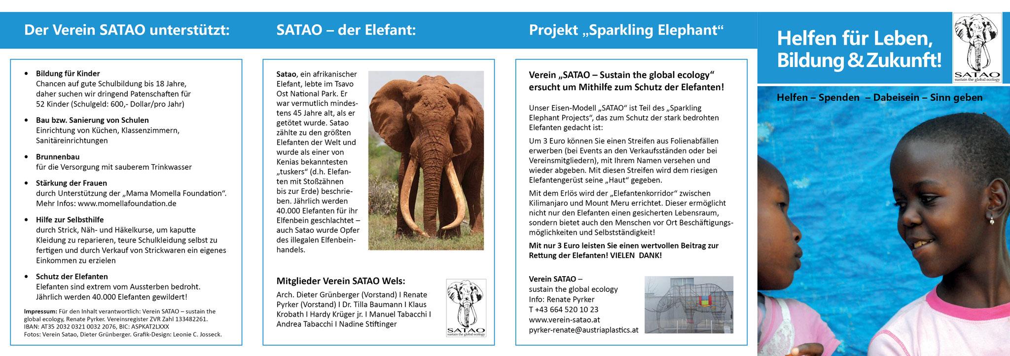 Verein SATAO: Folder