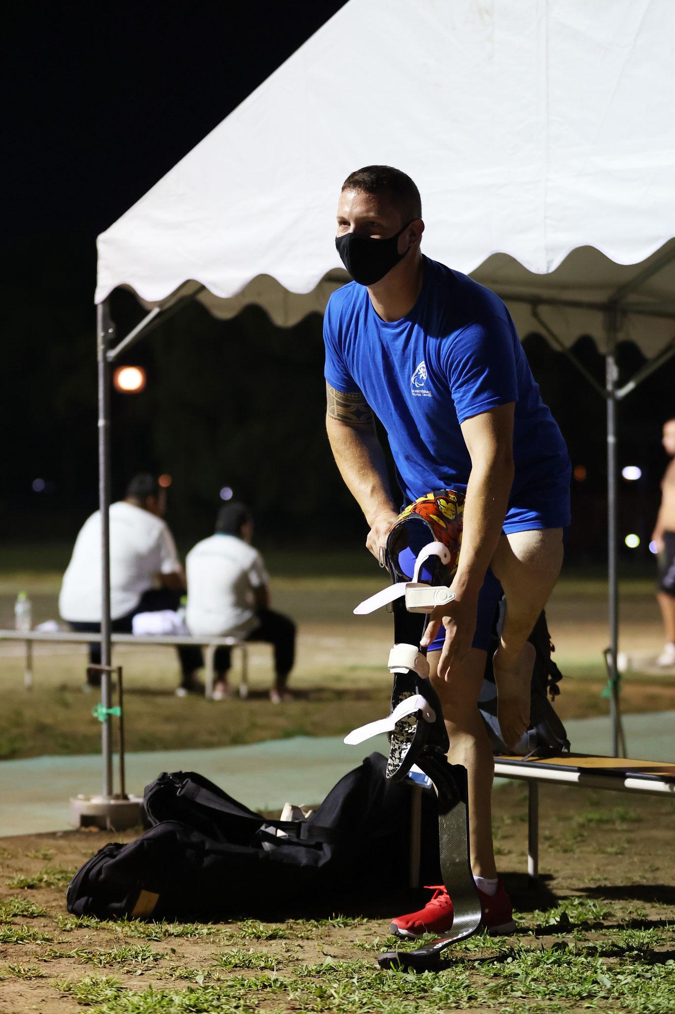 dem Training im Yoyogi Park