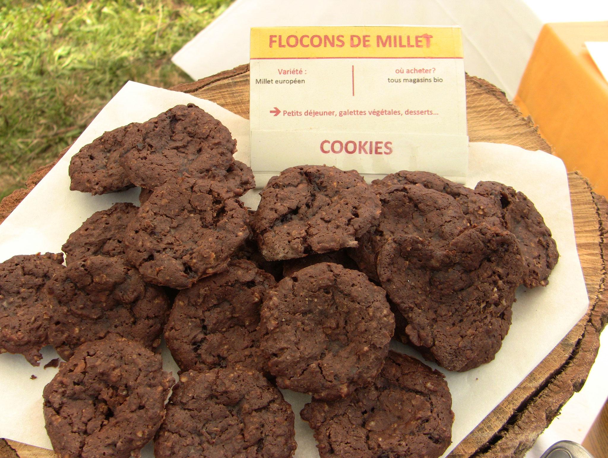 Terra Millet - cookies au millet alléchants!