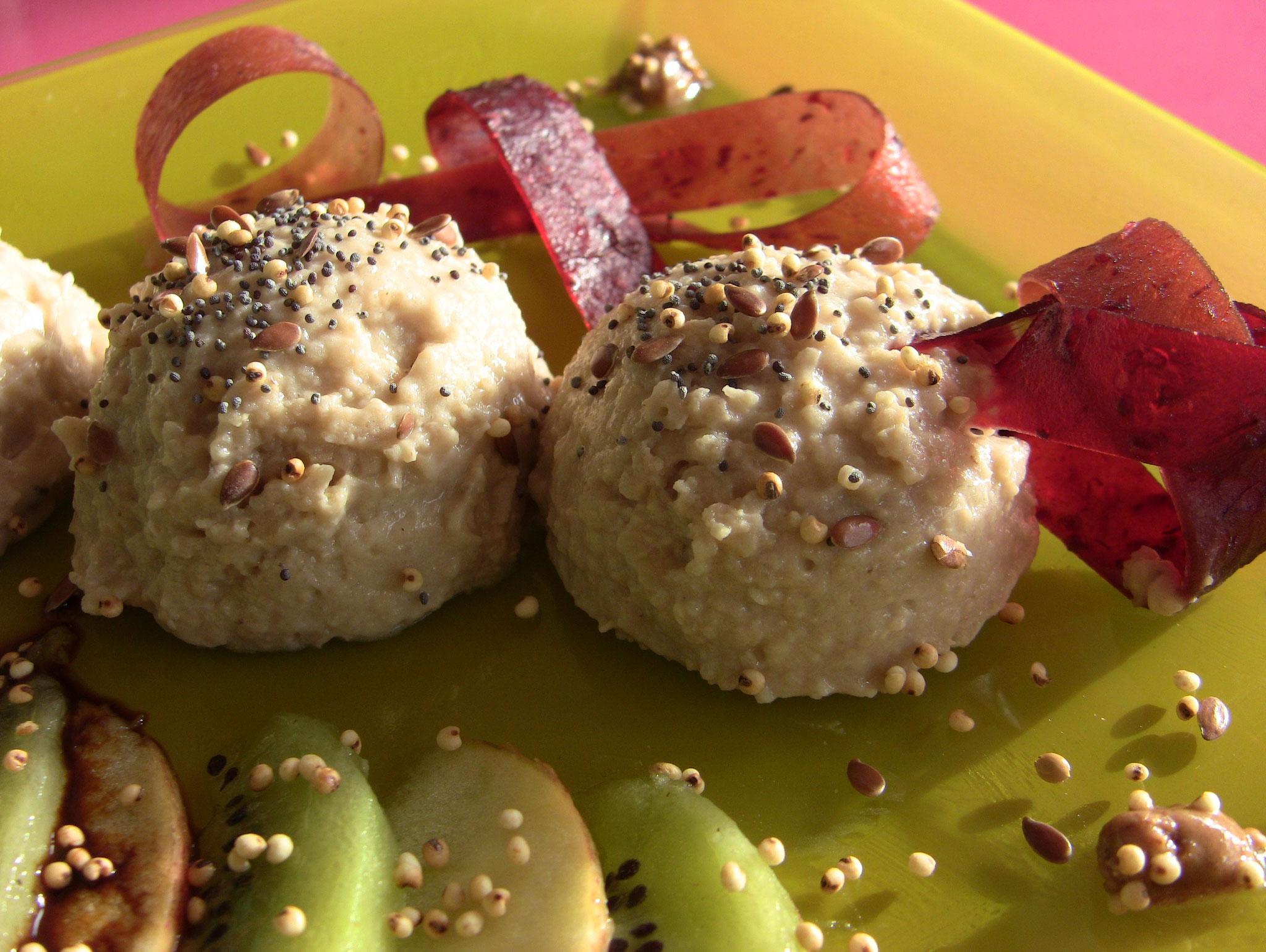 dessert concassé-semoule de millet