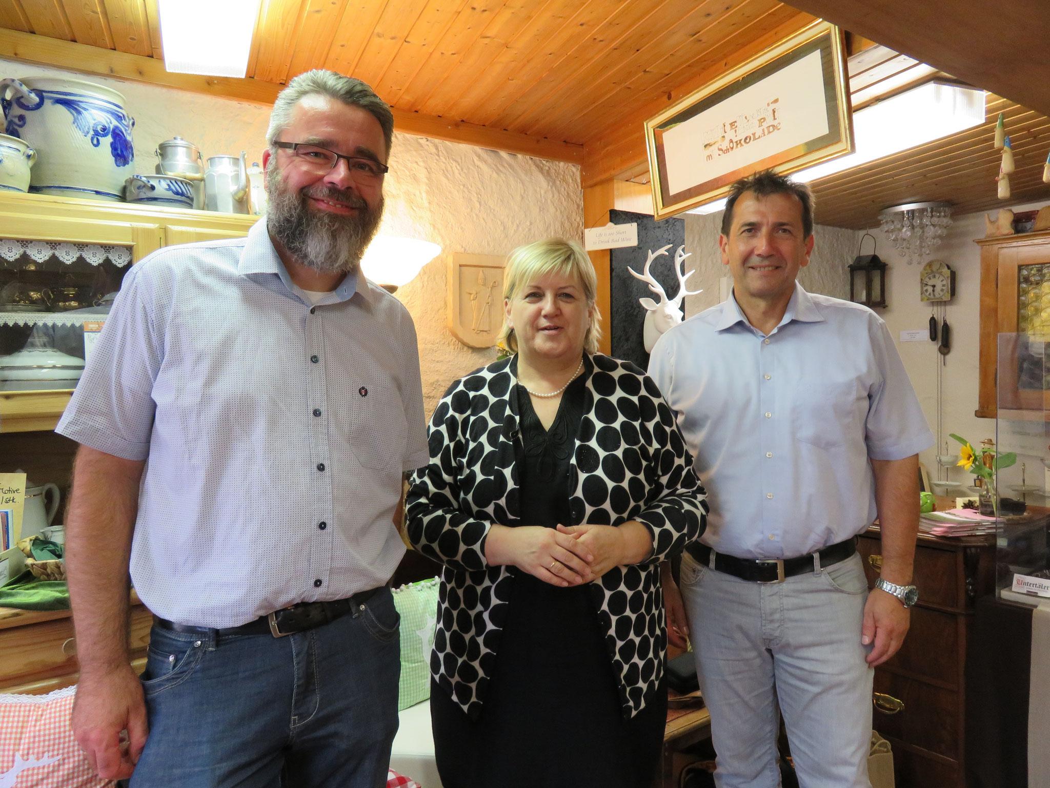 Dr. Ansgar Horsthemke; Kordula Kovac; Reinhard Kirr