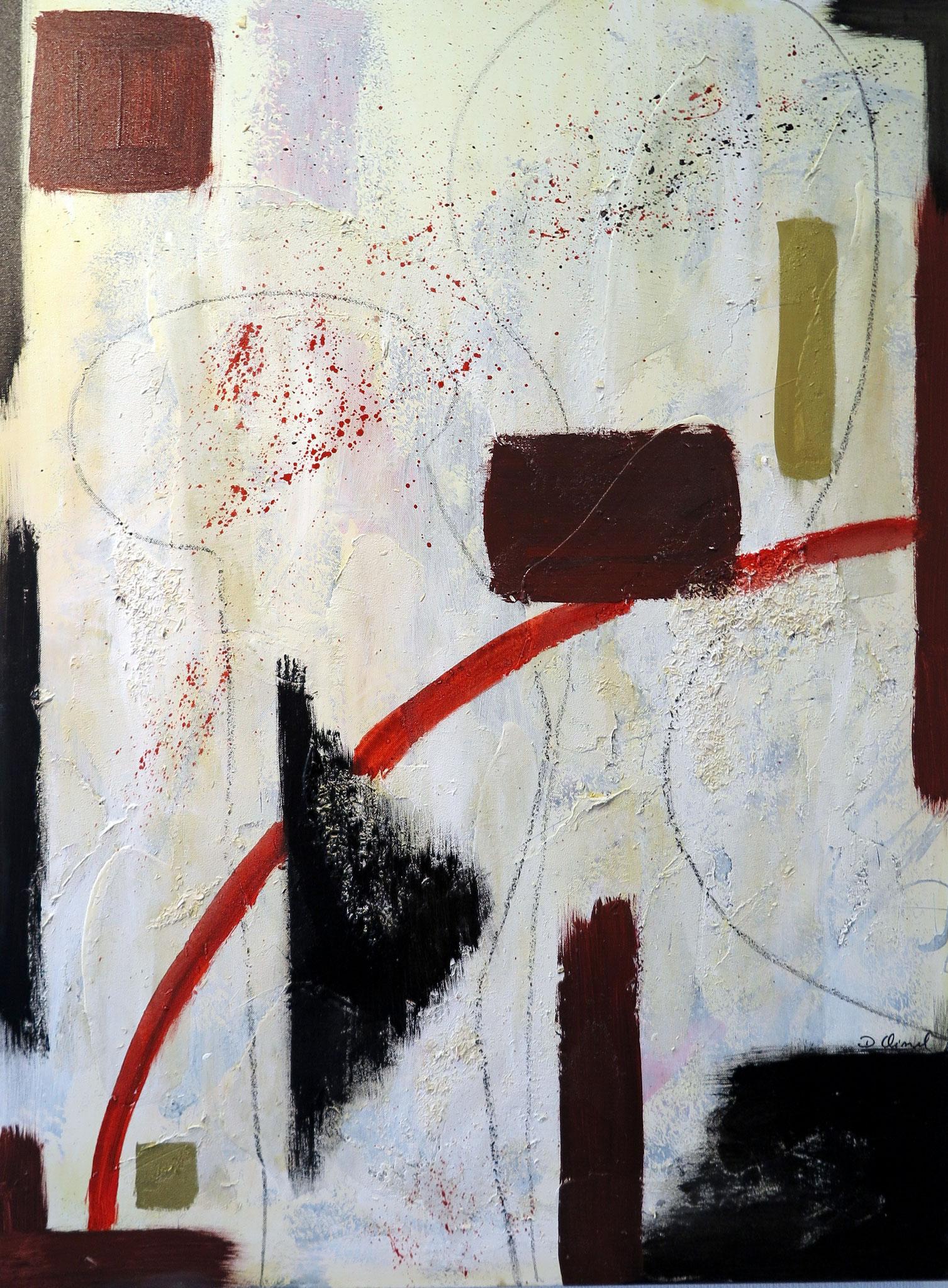 Abstrakt 2  100 x 120 cm