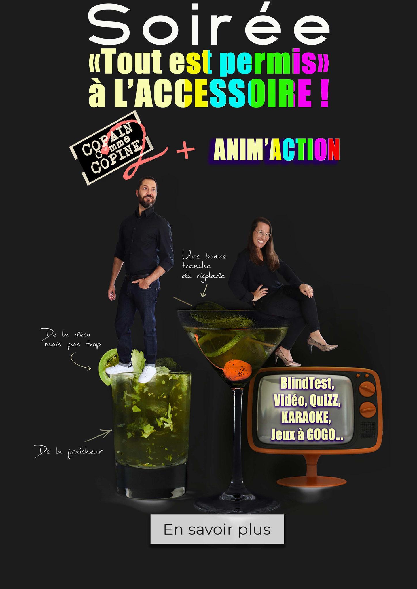 Spectacle + Animation - Tout est permis