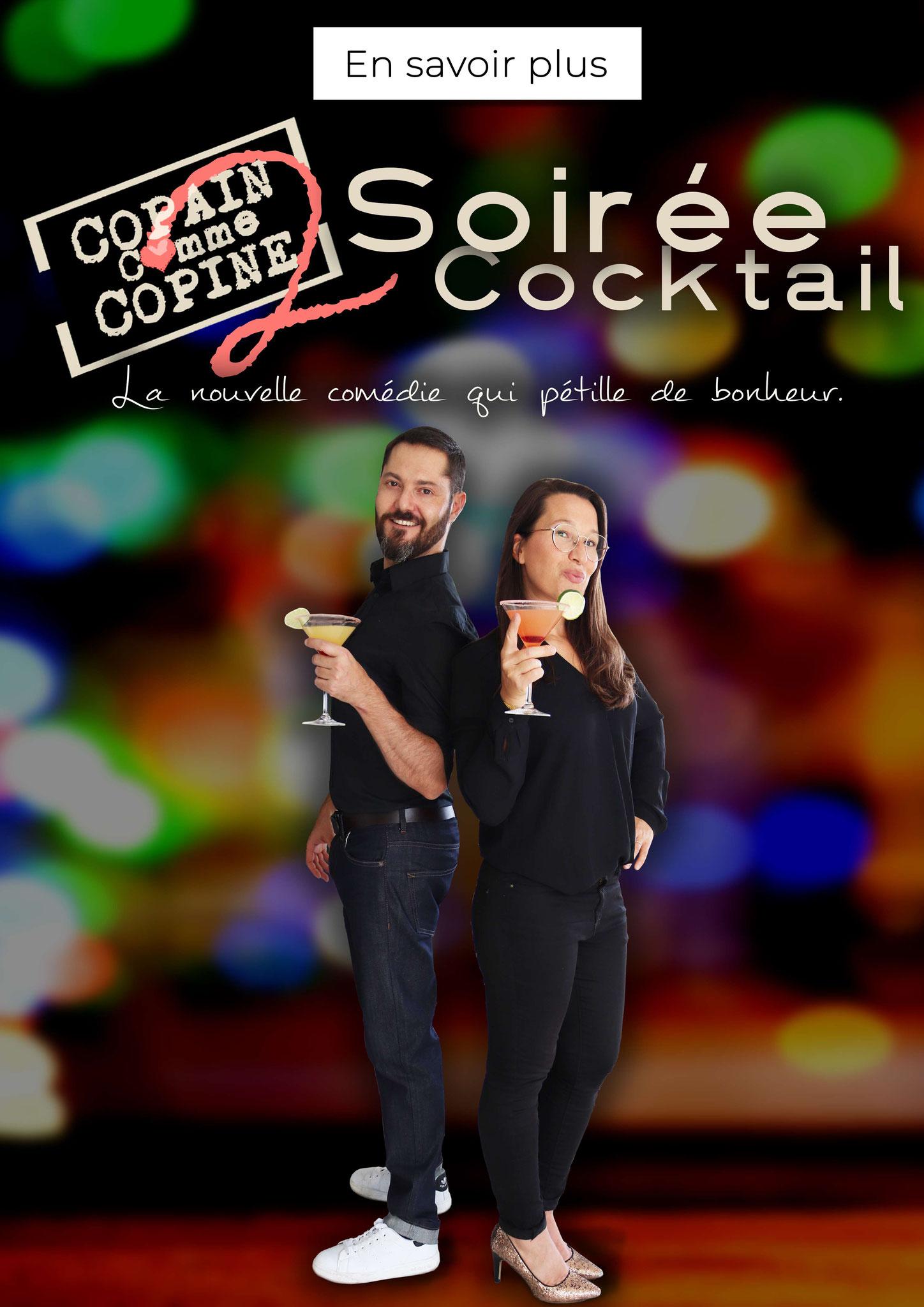 Spectacle Copain comme copine 2: Soirée Cocktail