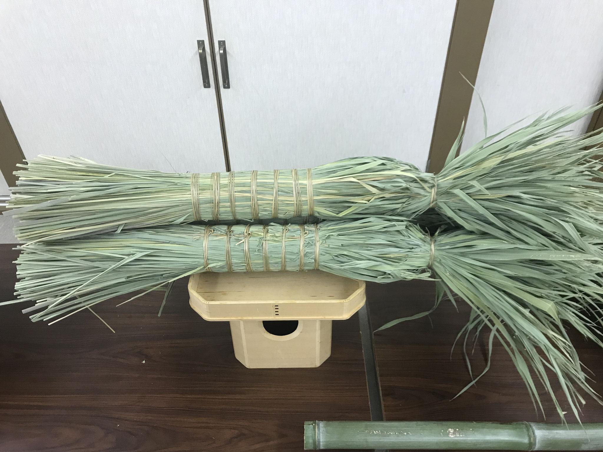 ジャンボちまき(全長約1m)