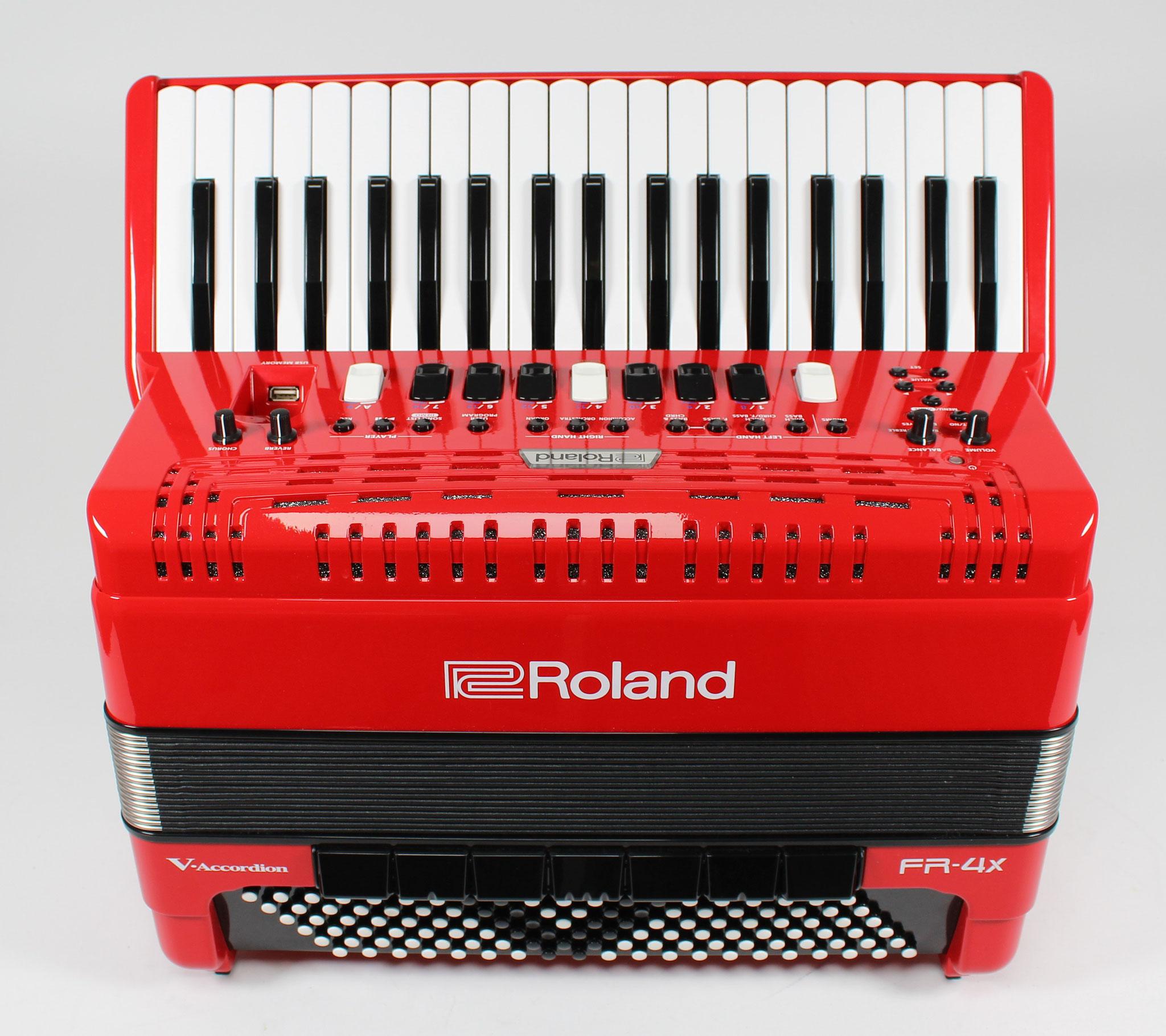ROLAND FR4-X, rot