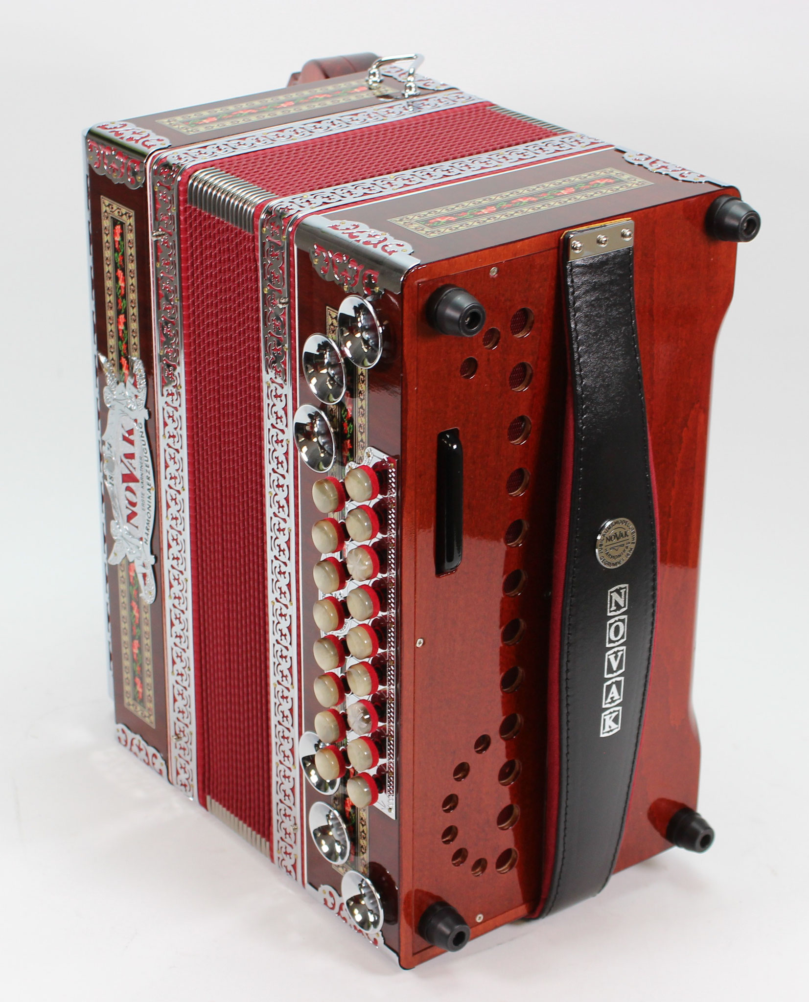 Novak Premium-Classic Jubiläumsmodell, rot