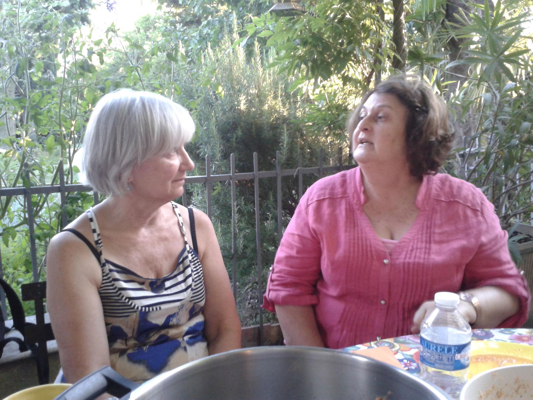 Constance et Josiane