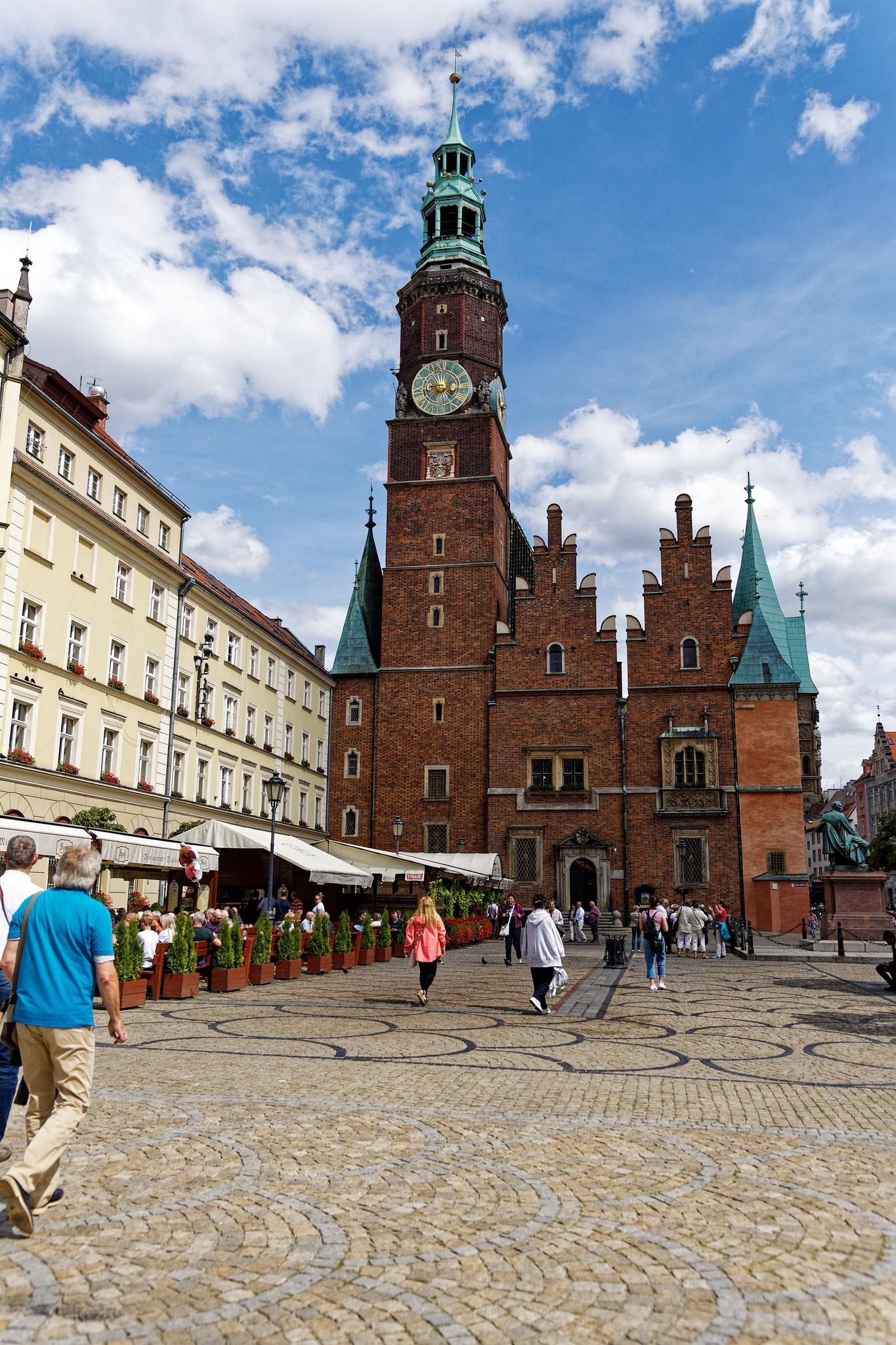 Breslau Marktplatz
