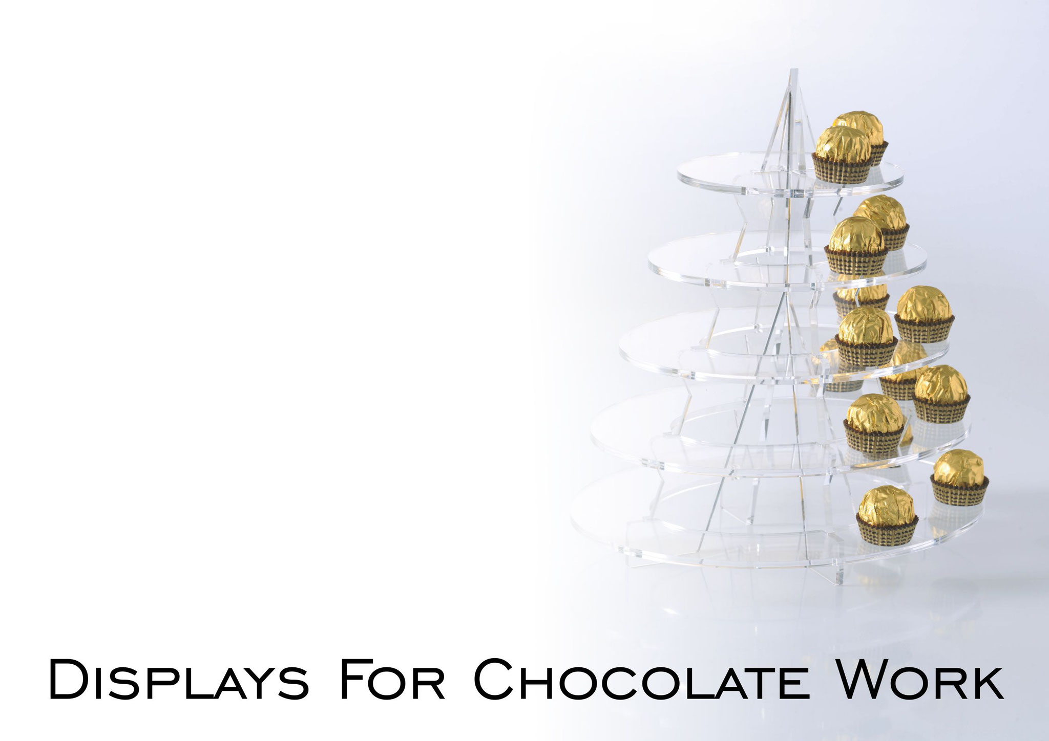 Displays for Chocolate Work