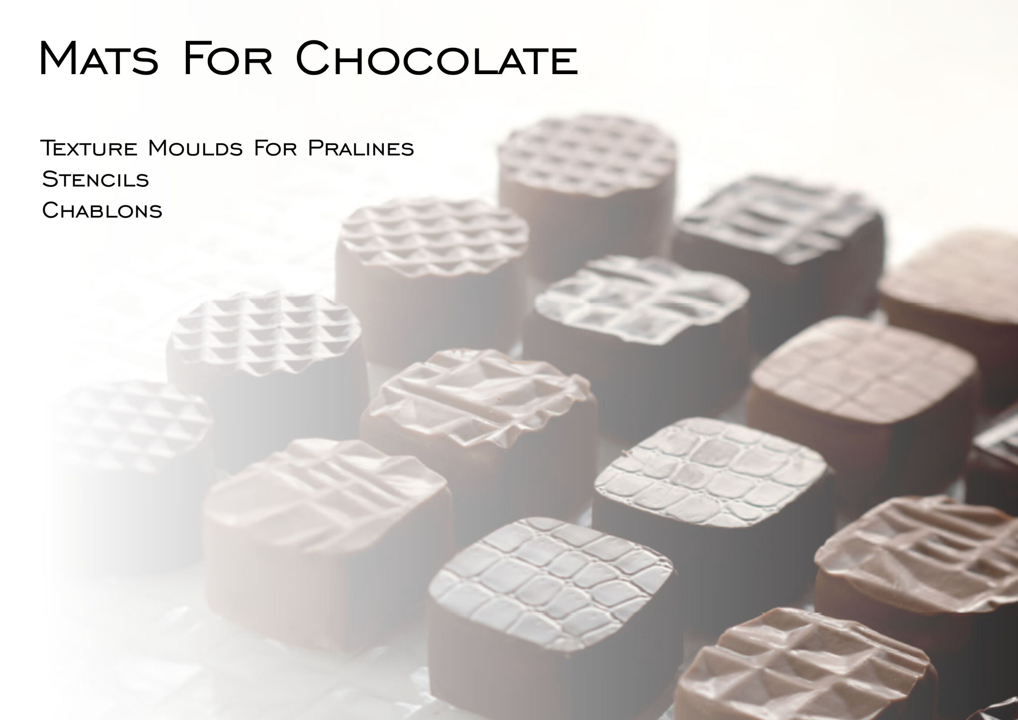 Mats for Chocolate Decorations