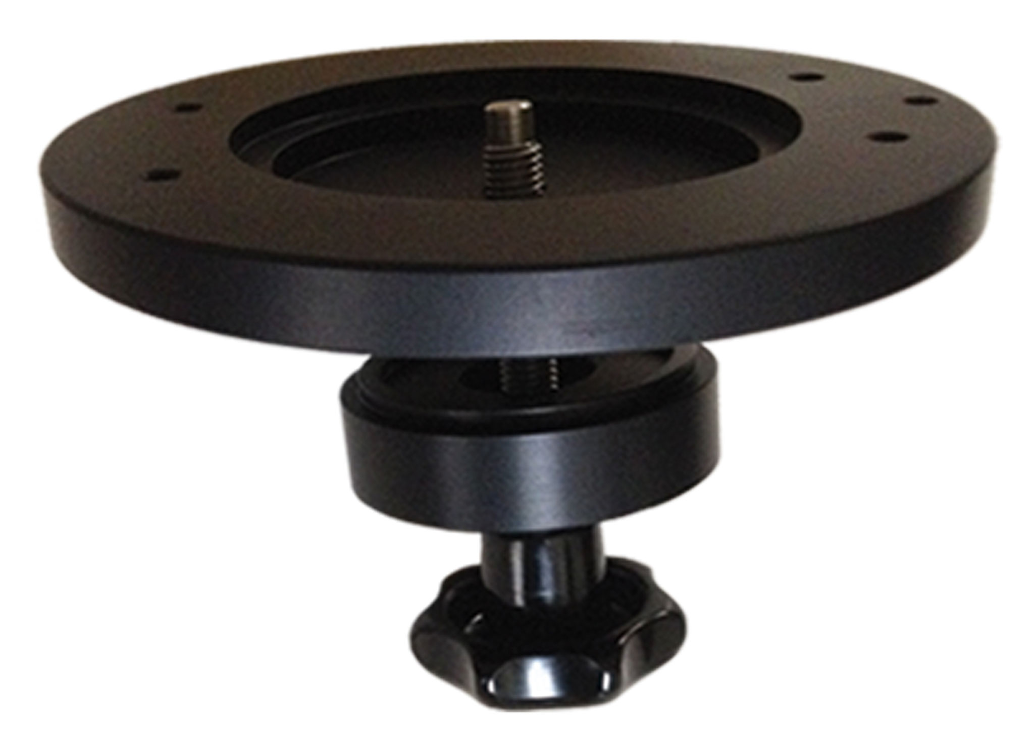 Mitchell/150mm Bowl Adapter Plate for center mounting of Tango base track onto Mitchell/150mm tripods