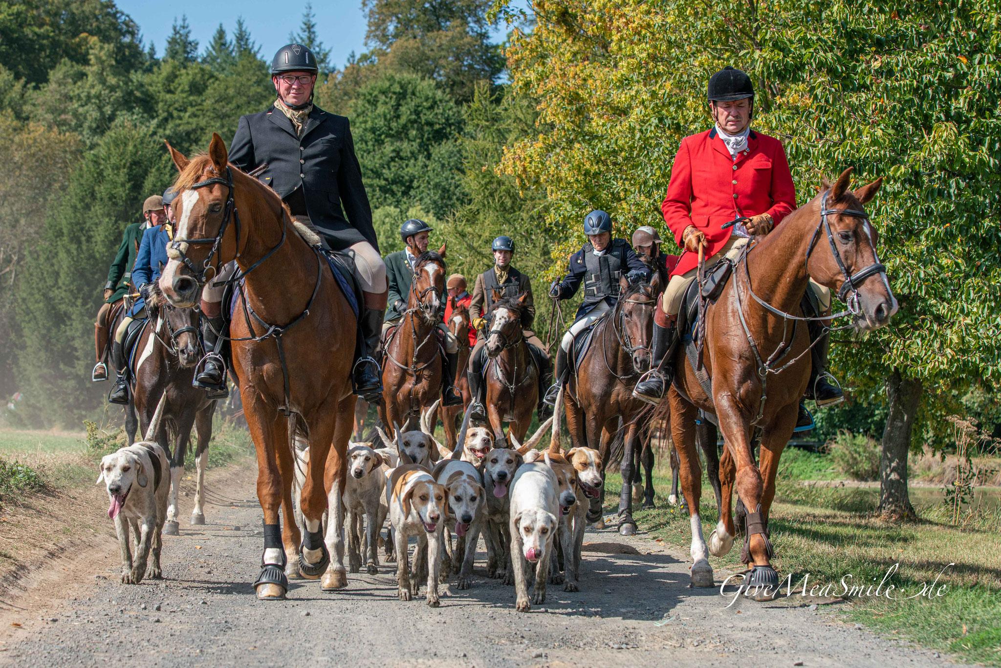 Schleppjagdfotos Jagdfotos von www.givemeasmile.de   Peter Jäger